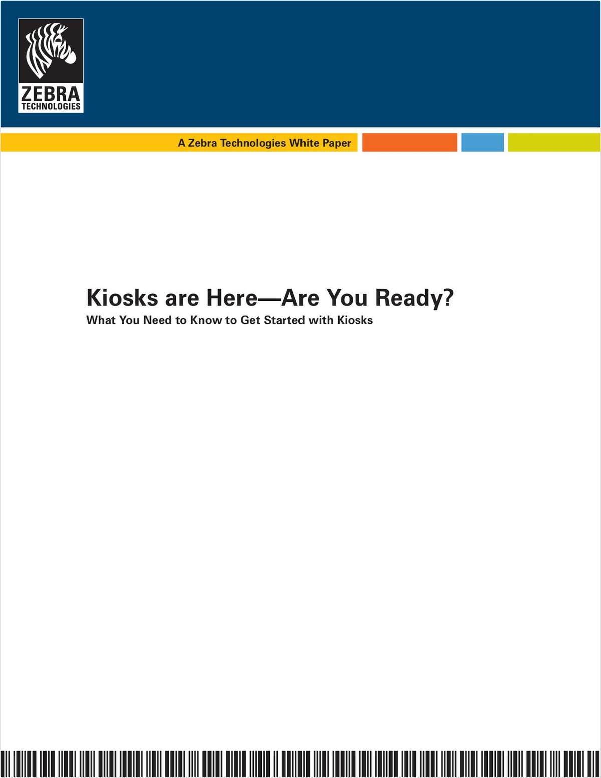 What Retailers Need to Know to Implement Customer Kiosks