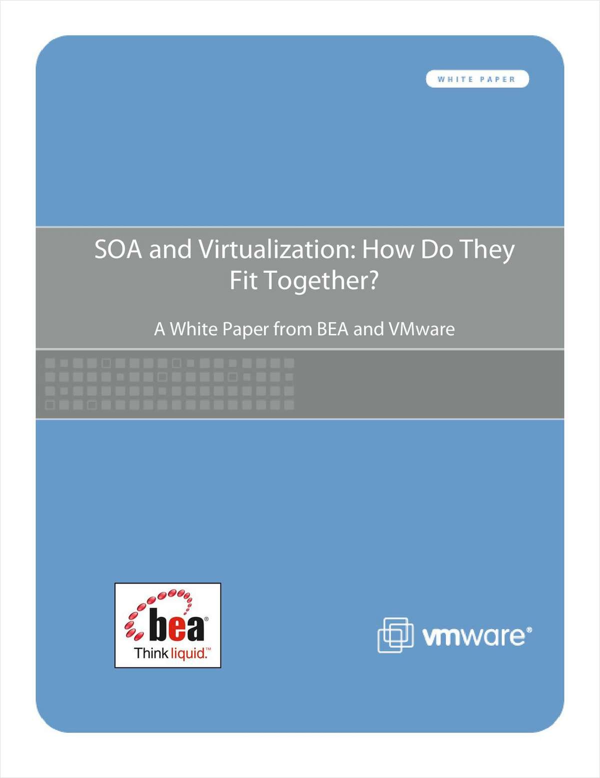 SOA and Virtualization: How Do They Fit Together?