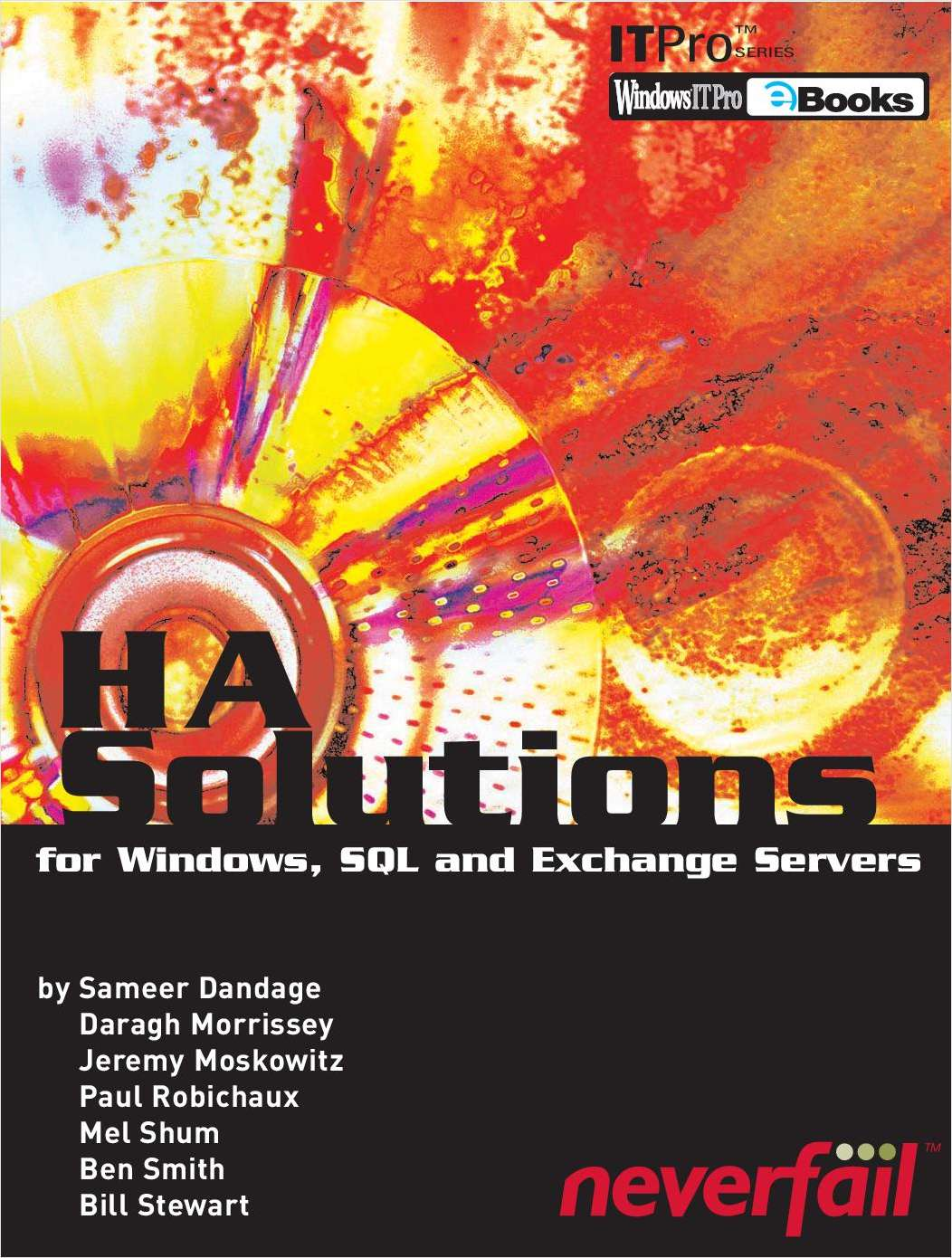 HA Solutions for Windows, SQL, and Exchange Servers