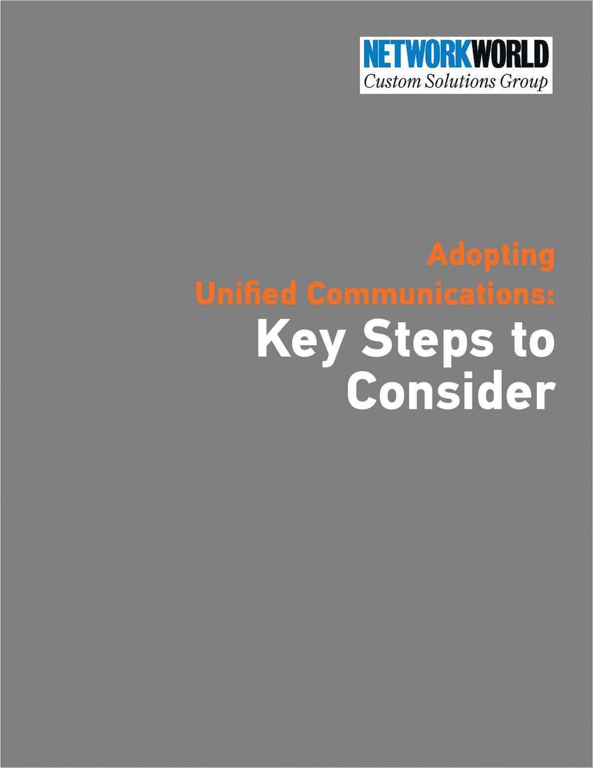 Adopting Unified Communications: Key Steps to Consider