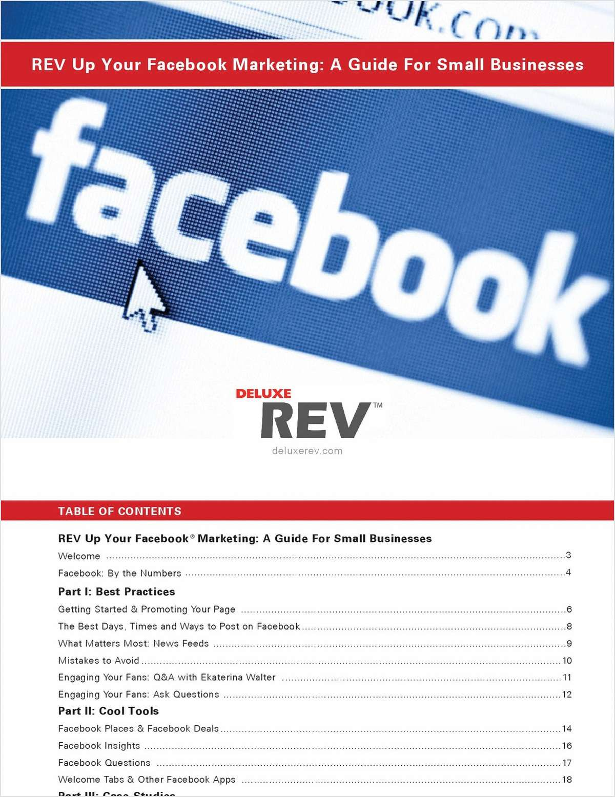 REV Up Your Facebook Marketing: A Guide For Small Businesses