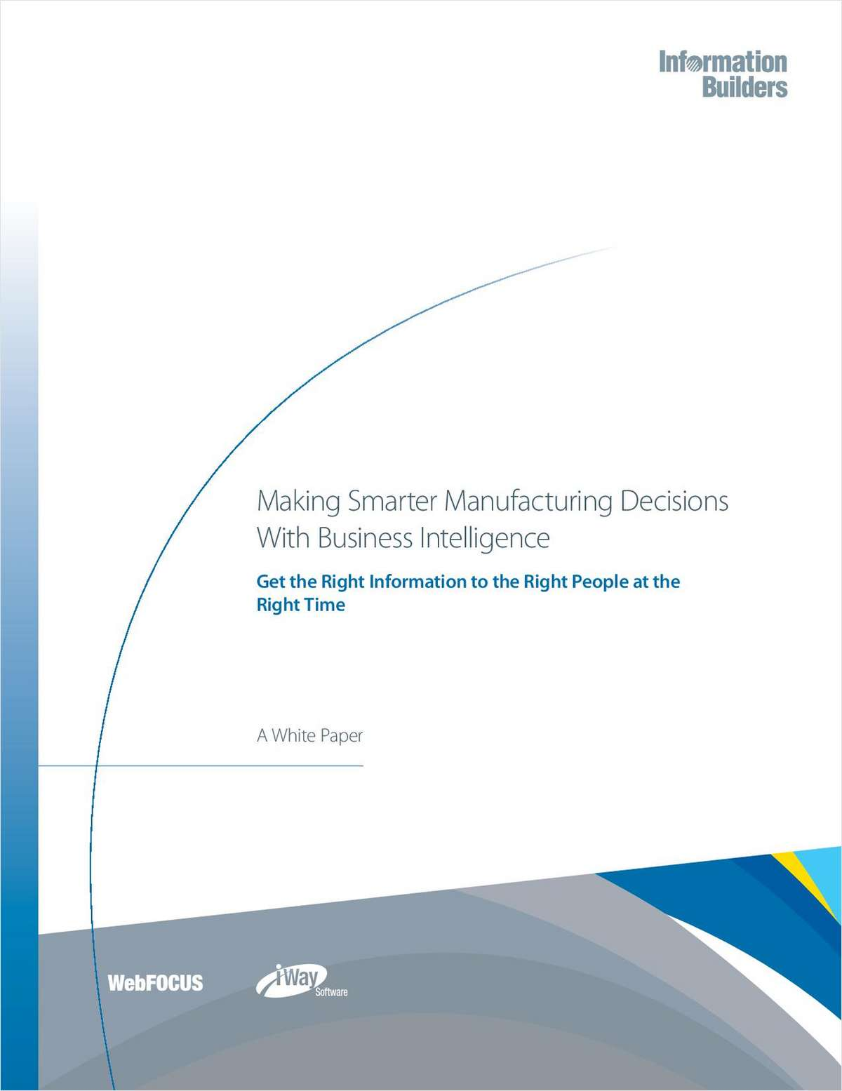 Making Smarter Manufacturing Decisions With Business Intelligence