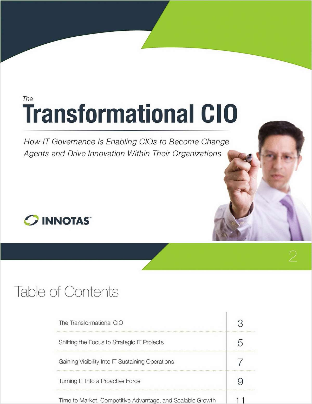 Transformational CIO - Change Agents & Innovator
