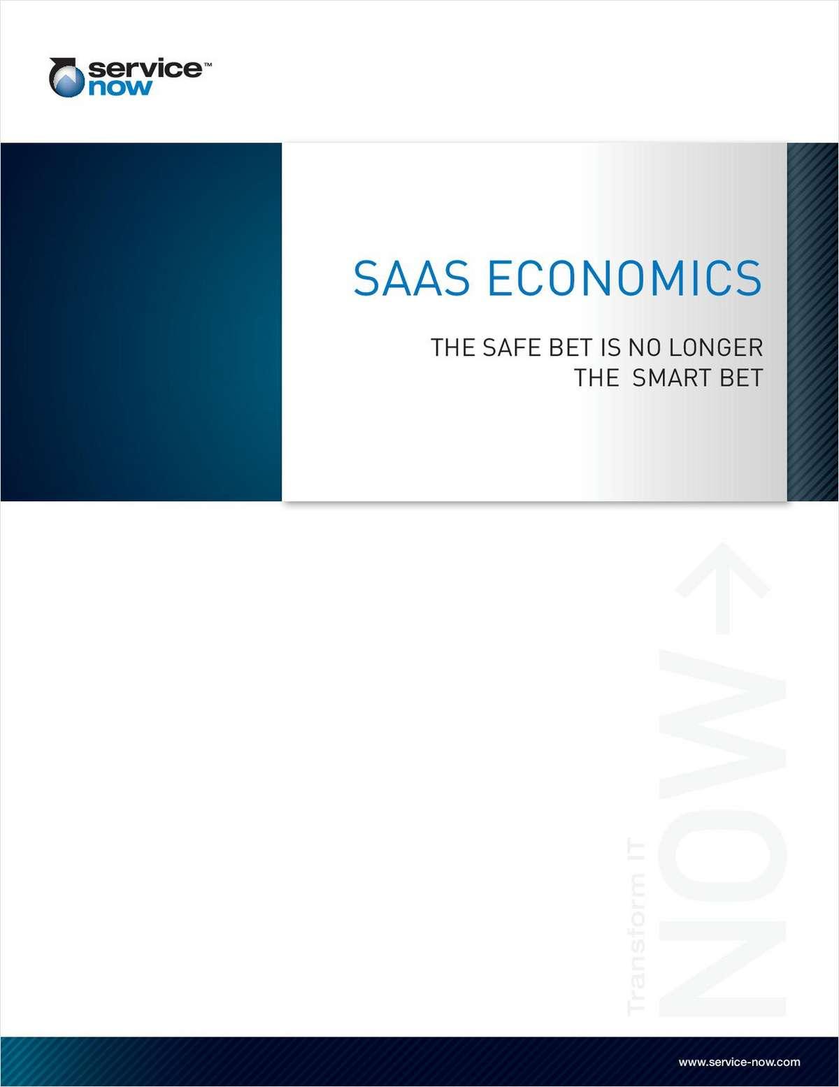 SaaS Economics: The Safe Bet is No Longer the Smart Bet
