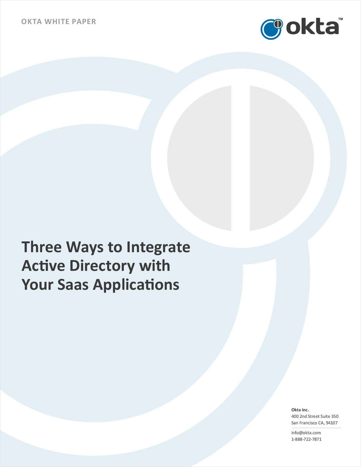 Three Ways to Integrate Active Directory with Your SaaS Applications