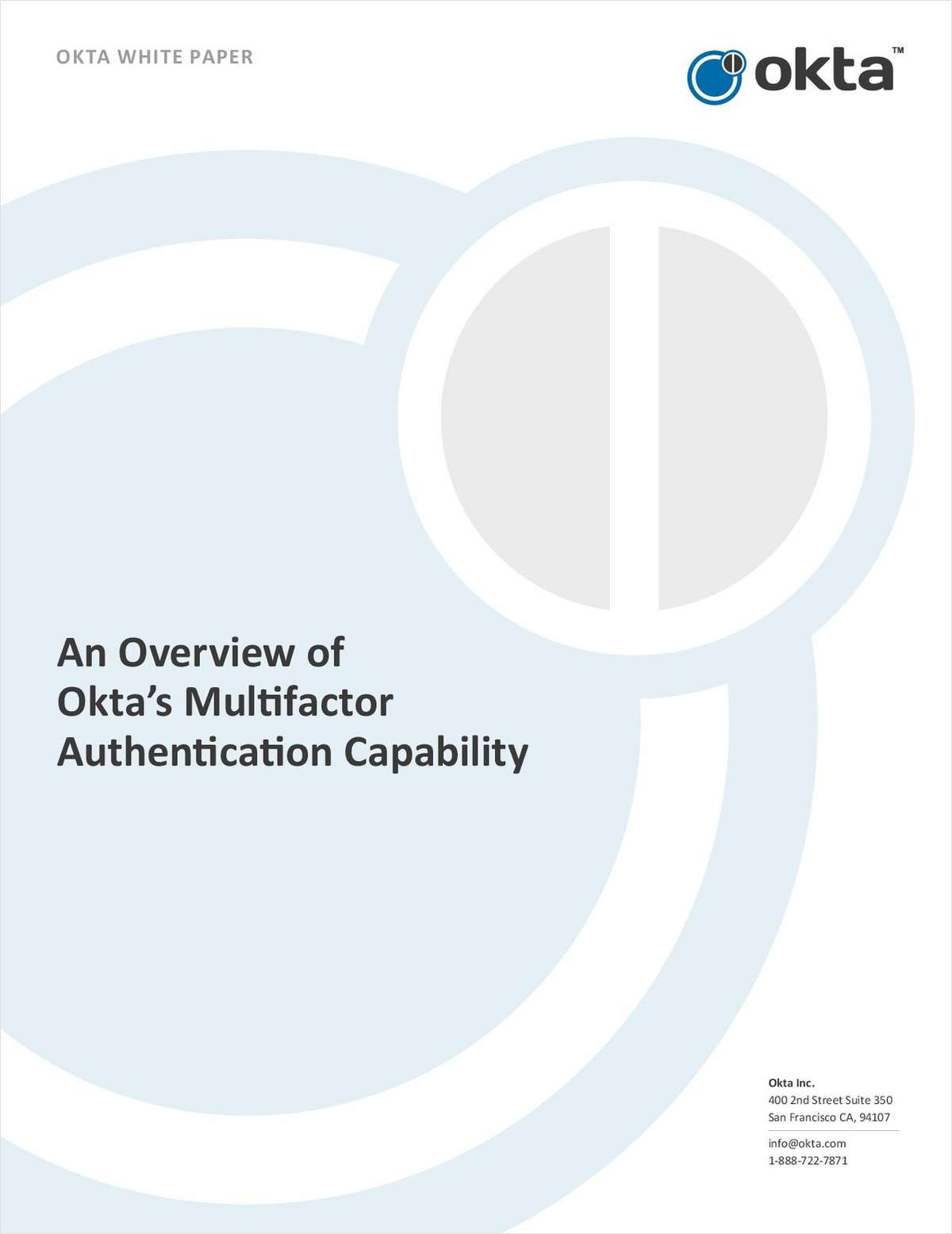 An Overview of Okta's Multifactor Authentication Capability