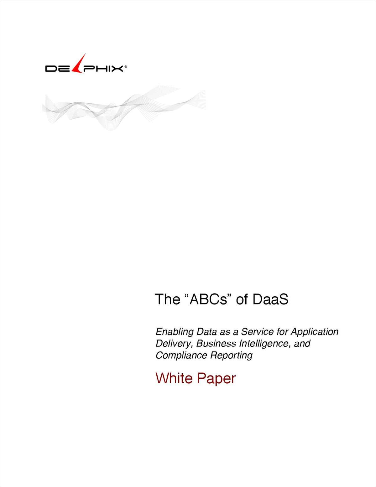 The 'ABCs' of DaaS