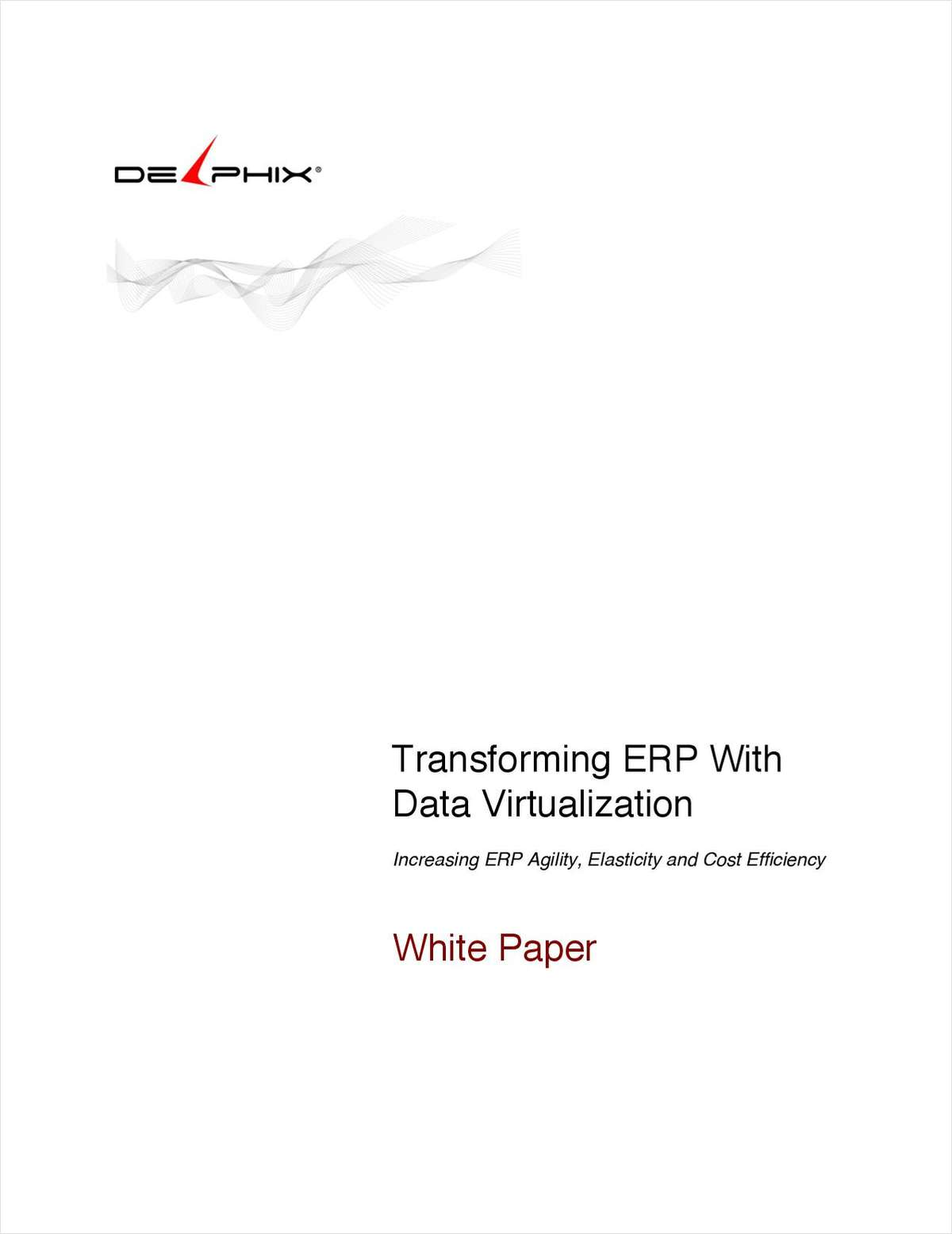 Transforming ERP with Data Virtualization