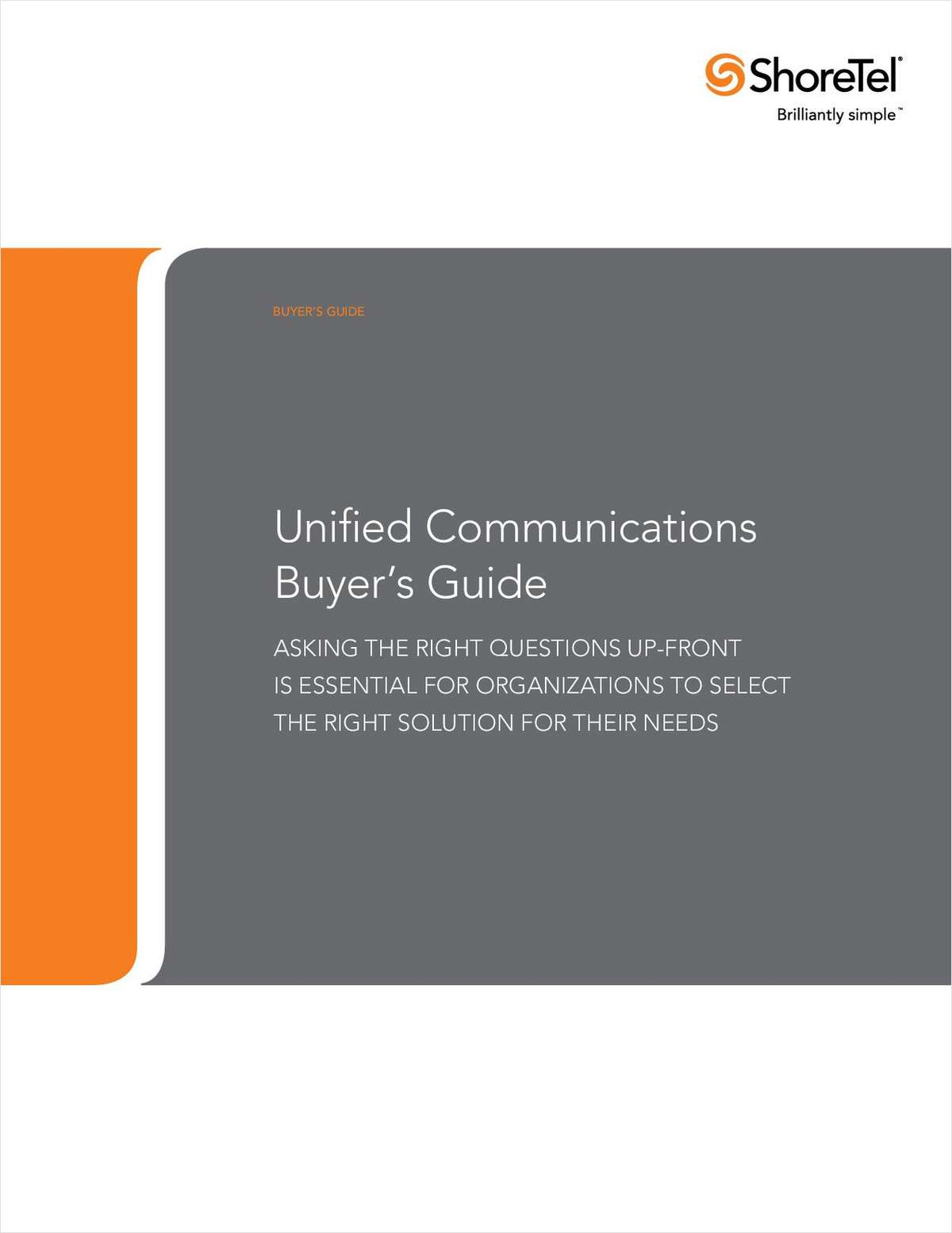 Unified Communications Buyer's Guide