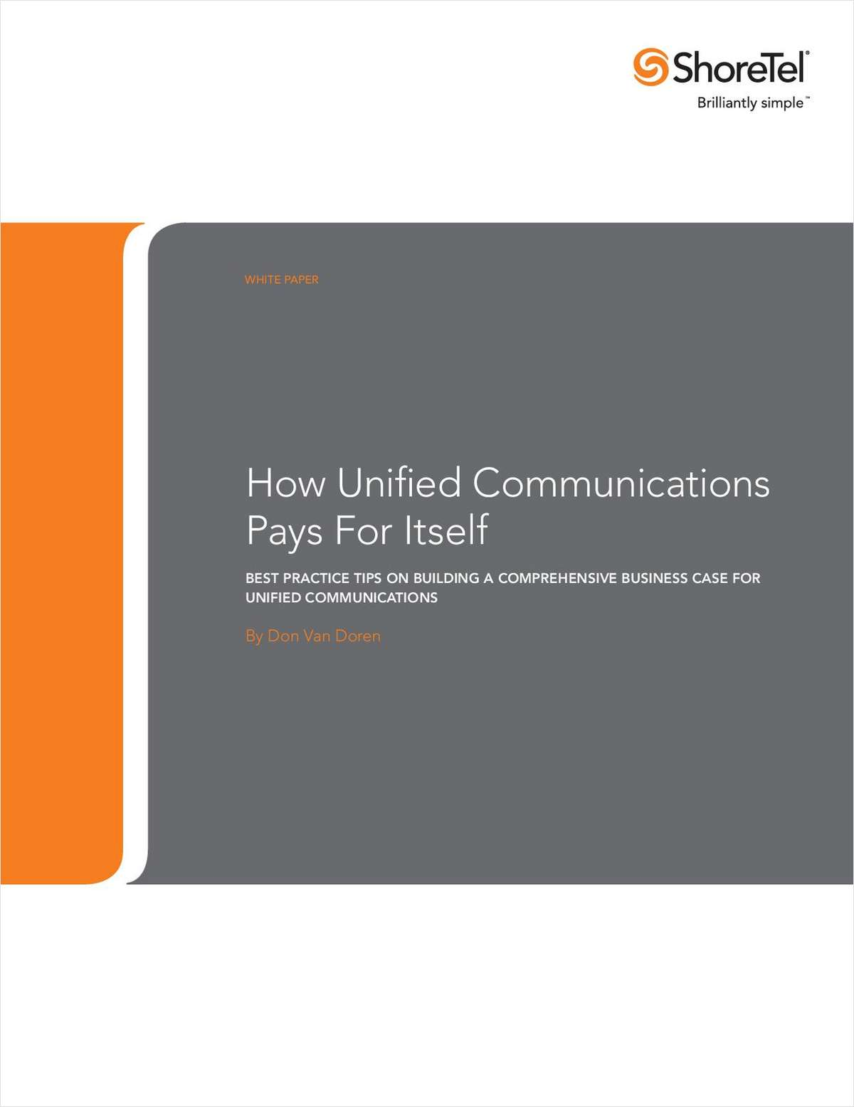 Best Practice Tips on Building a Unified Communications Business Case