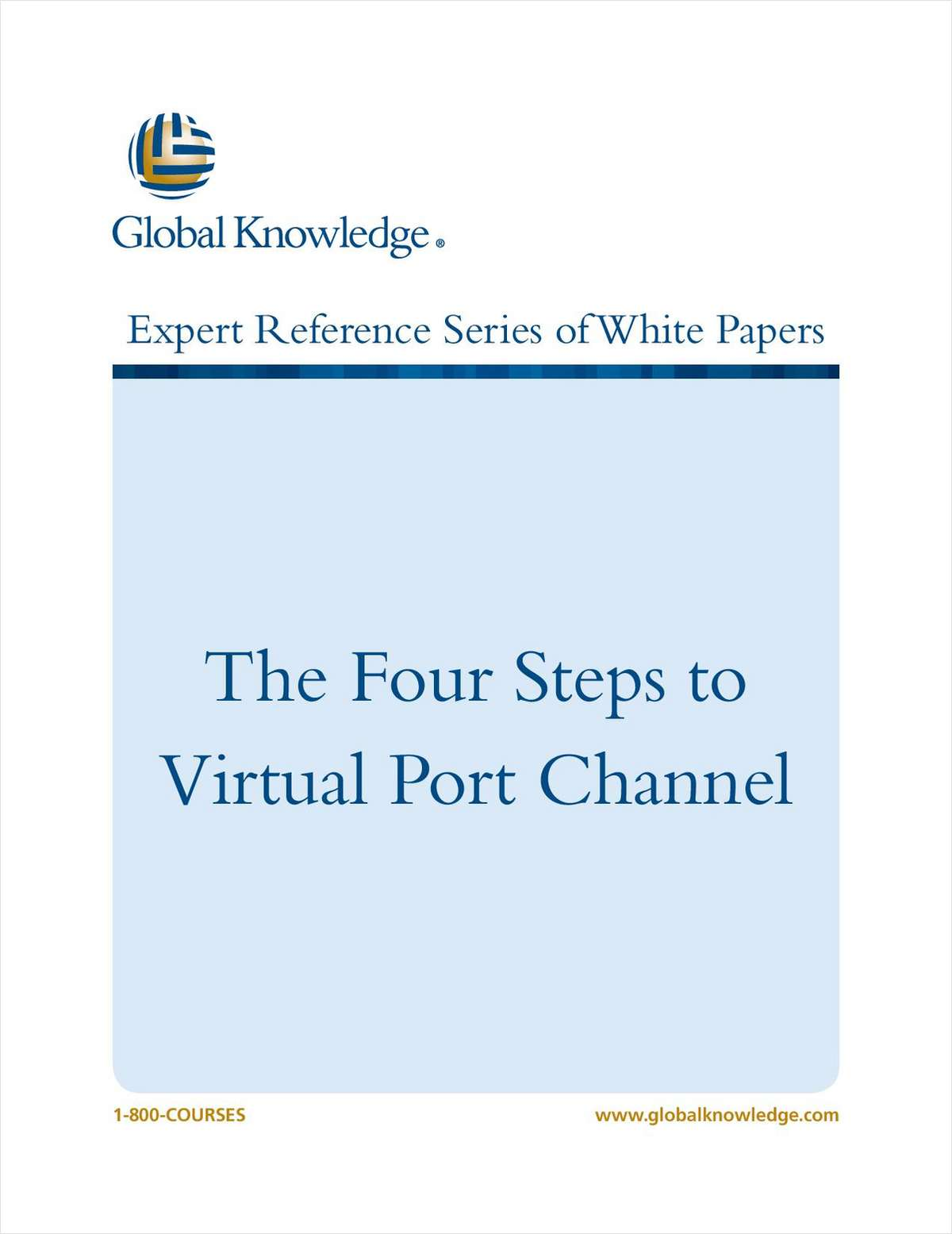 The Four Steps to Virtual Port Channel
