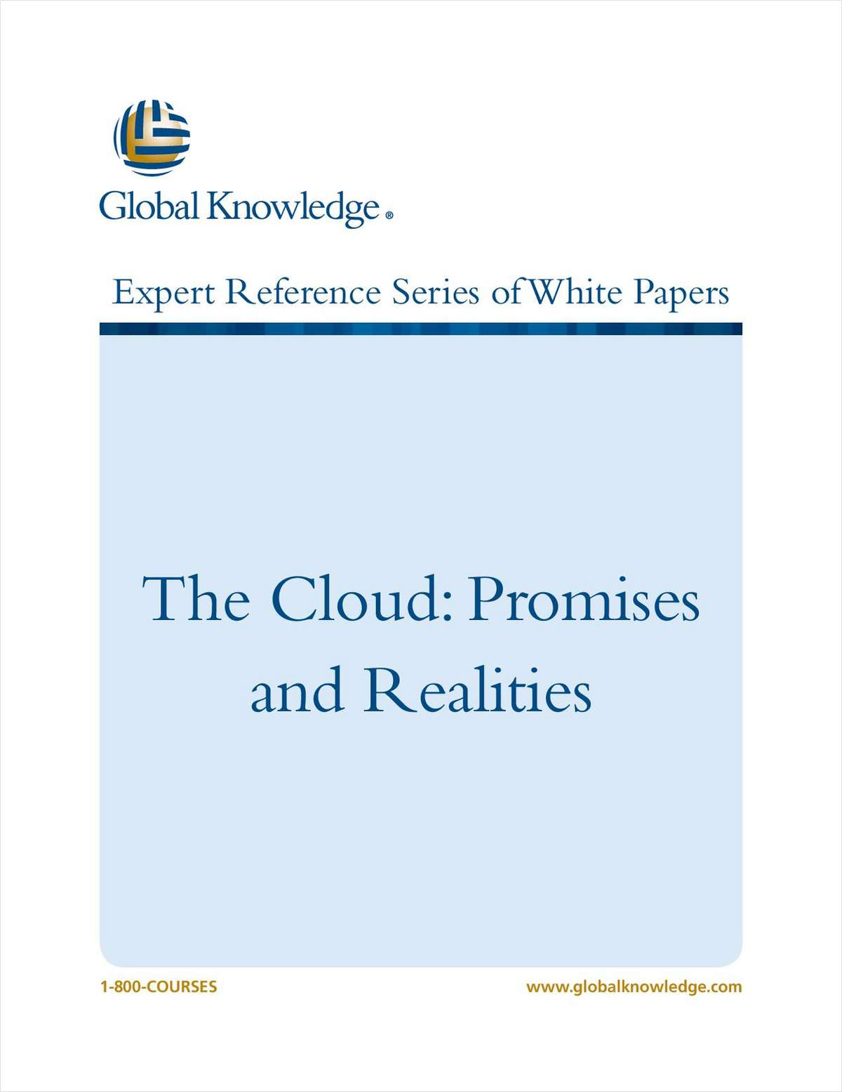 The Cloud: Promises and Realities