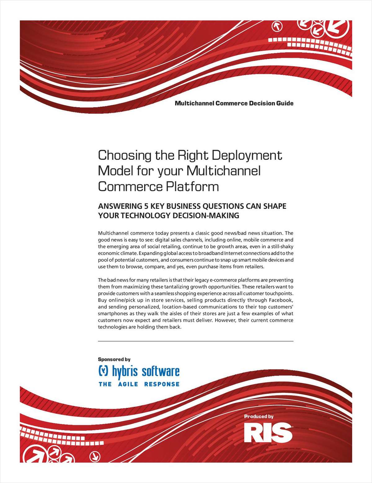 Choosing the Right Deployment Model for your B2C Multichannel Commerce Platform