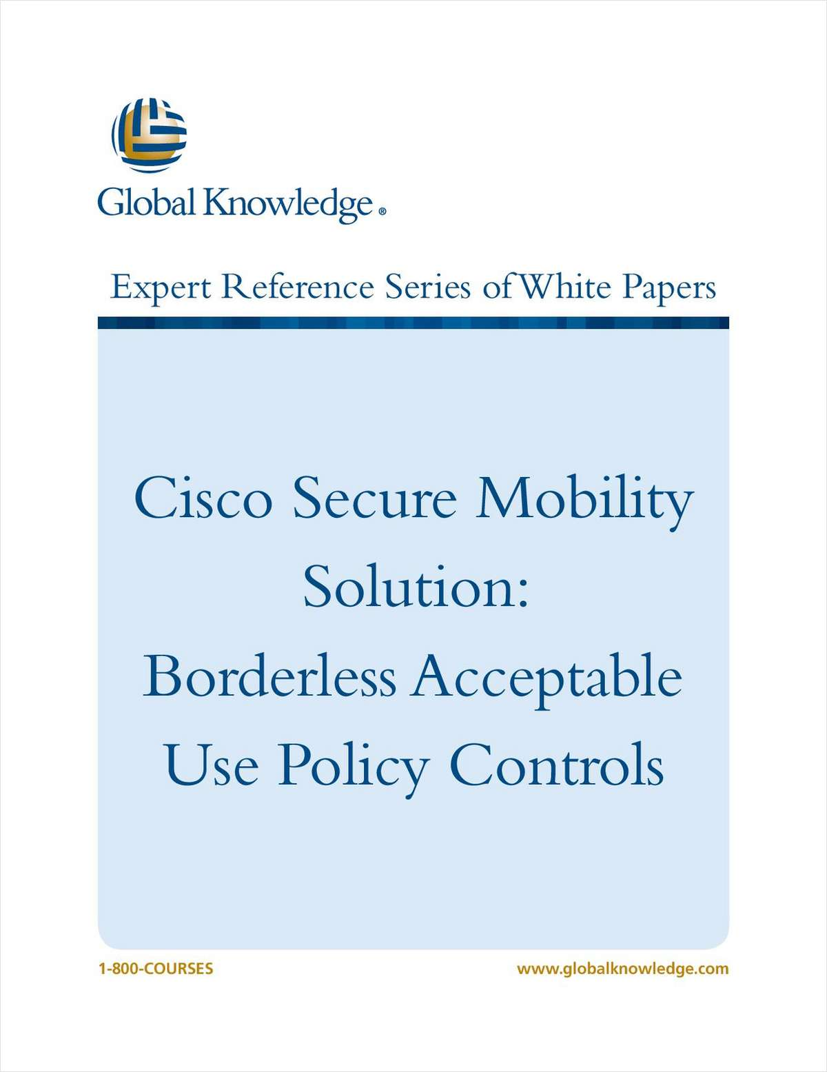 Cisco Secure Mobility Solution
