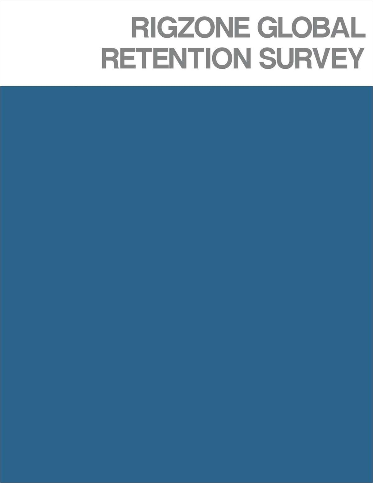 Rigzone Global Retention Survey