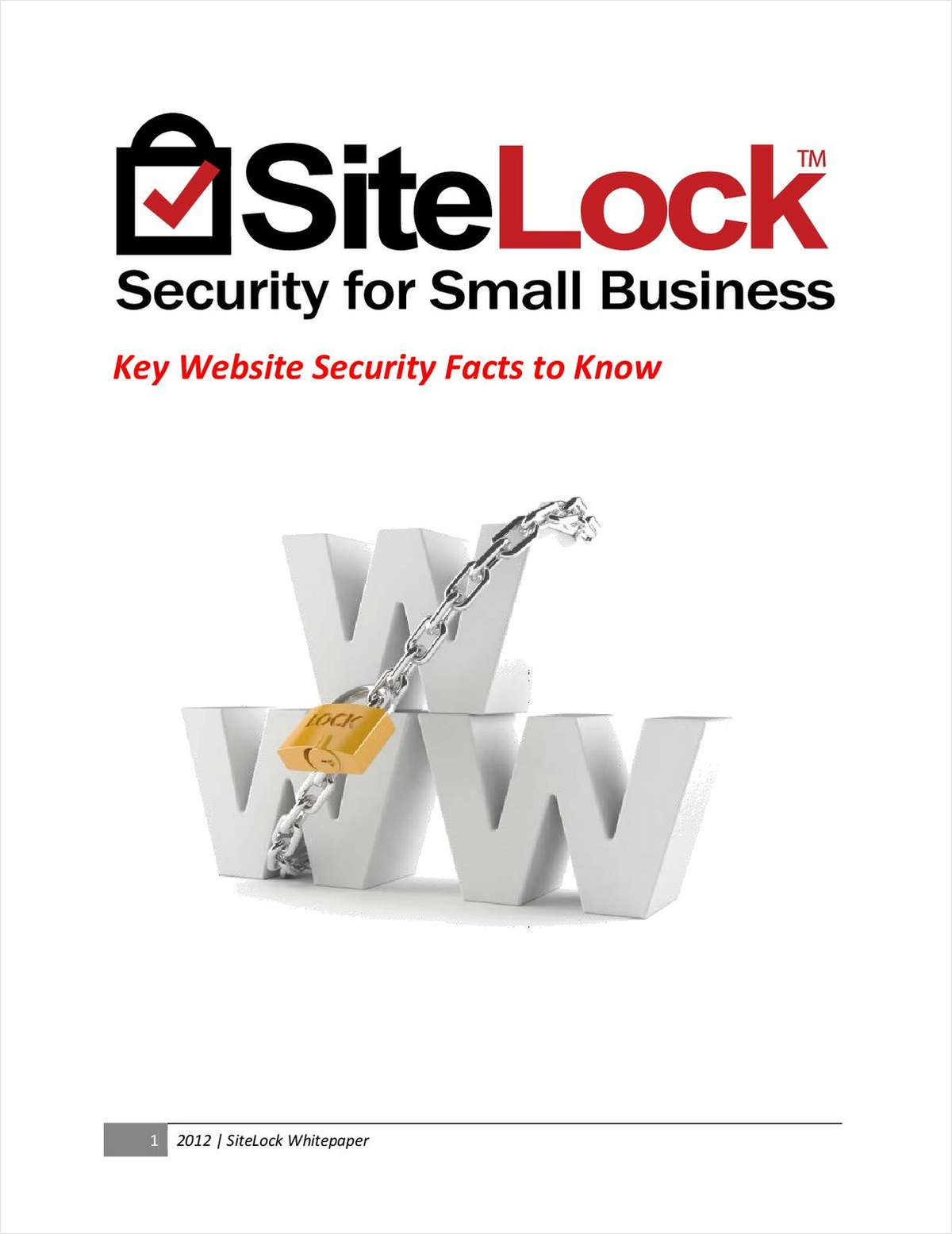Key Website Security Facts to Know for Small Business