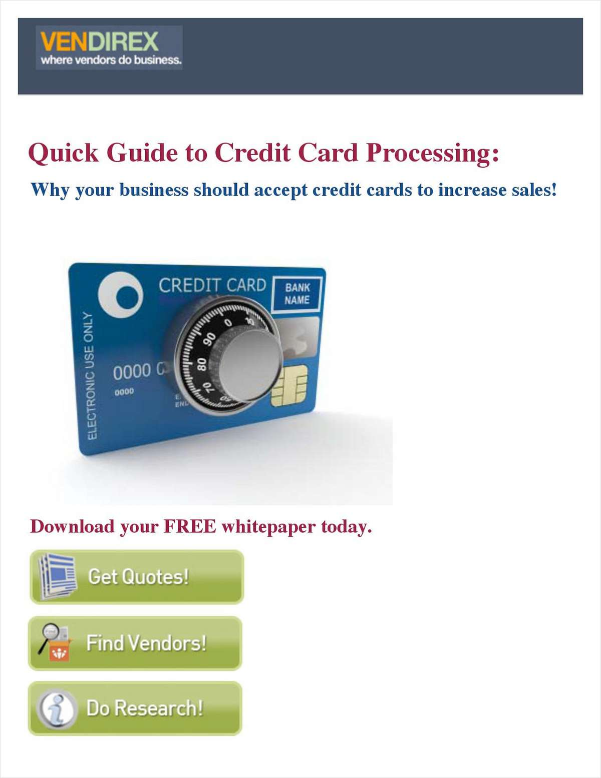 Why Your Business Should Accept Credit Cards to Increase Sales!