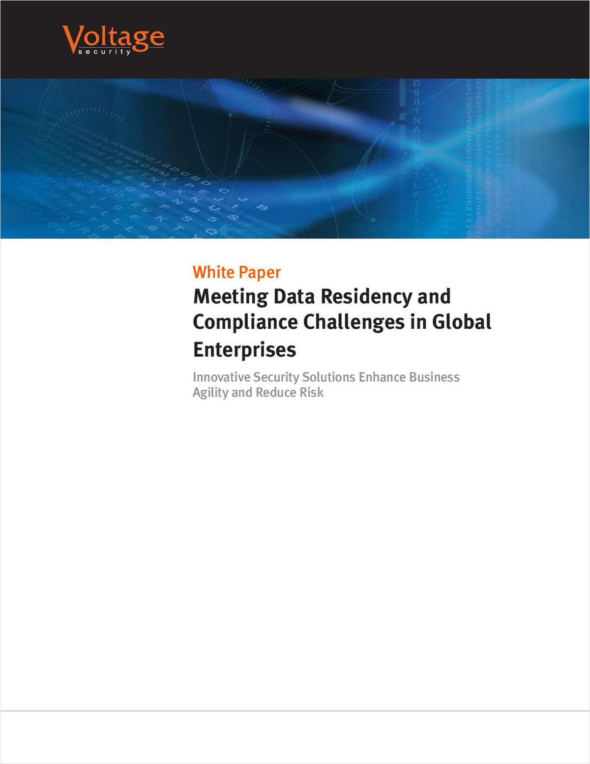 Meeting Data Residency and Compliance Challenges in Global Enterprises