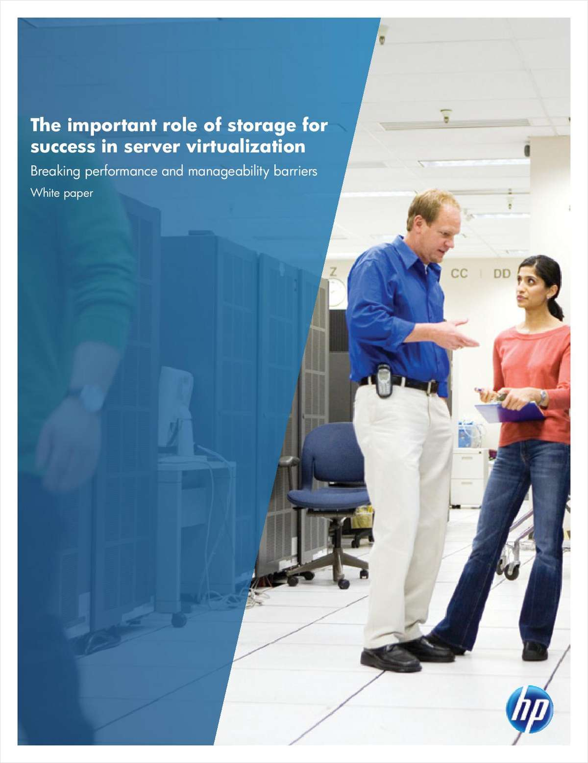 The Important Role of Storage for Success in Server Virtualization