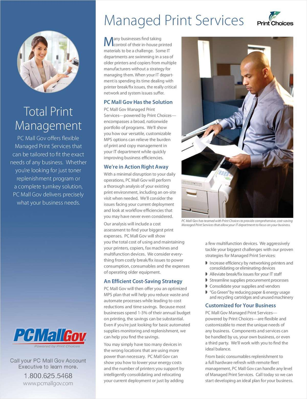 Managed Print Services for Government and Education