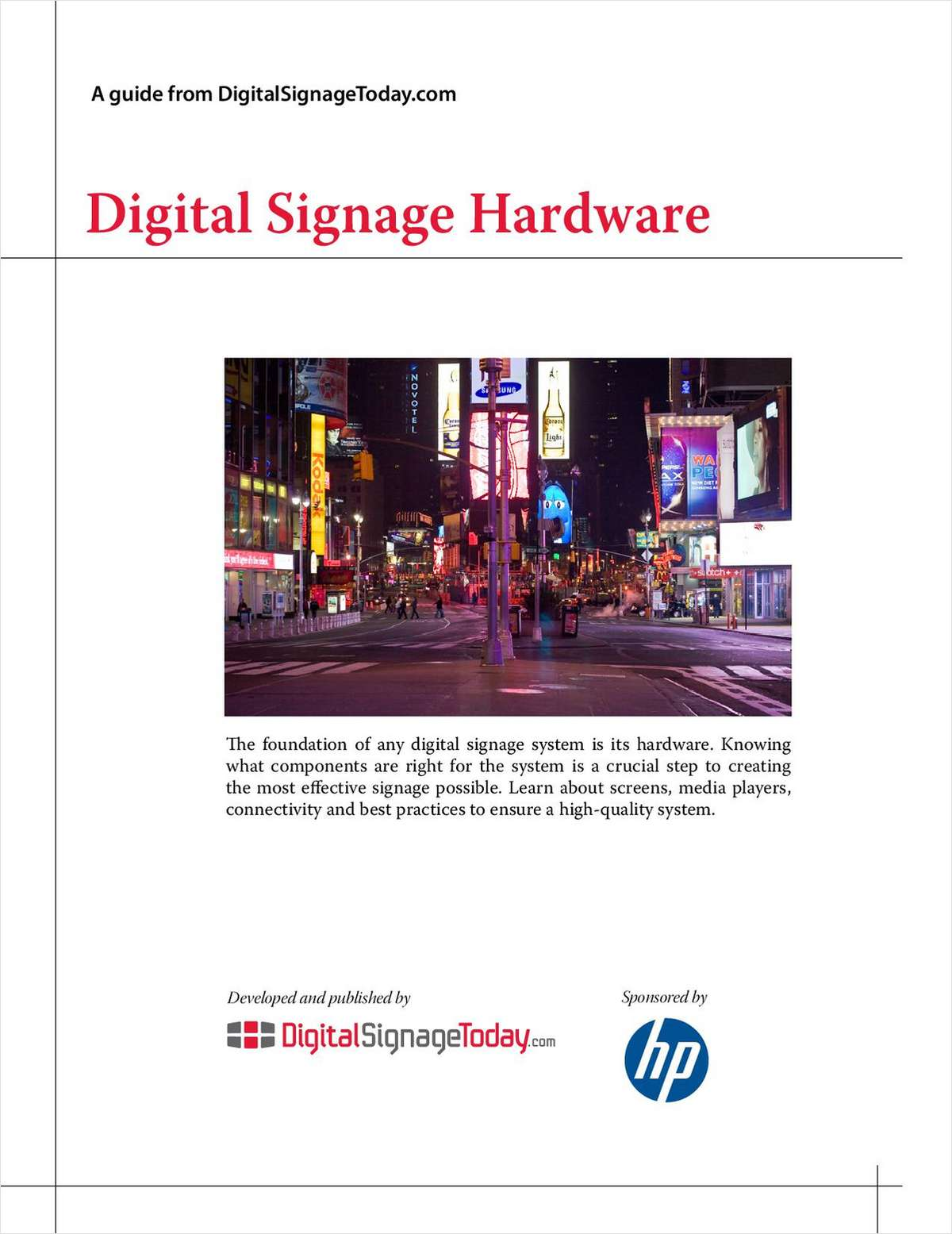 Digital Signage Hardware