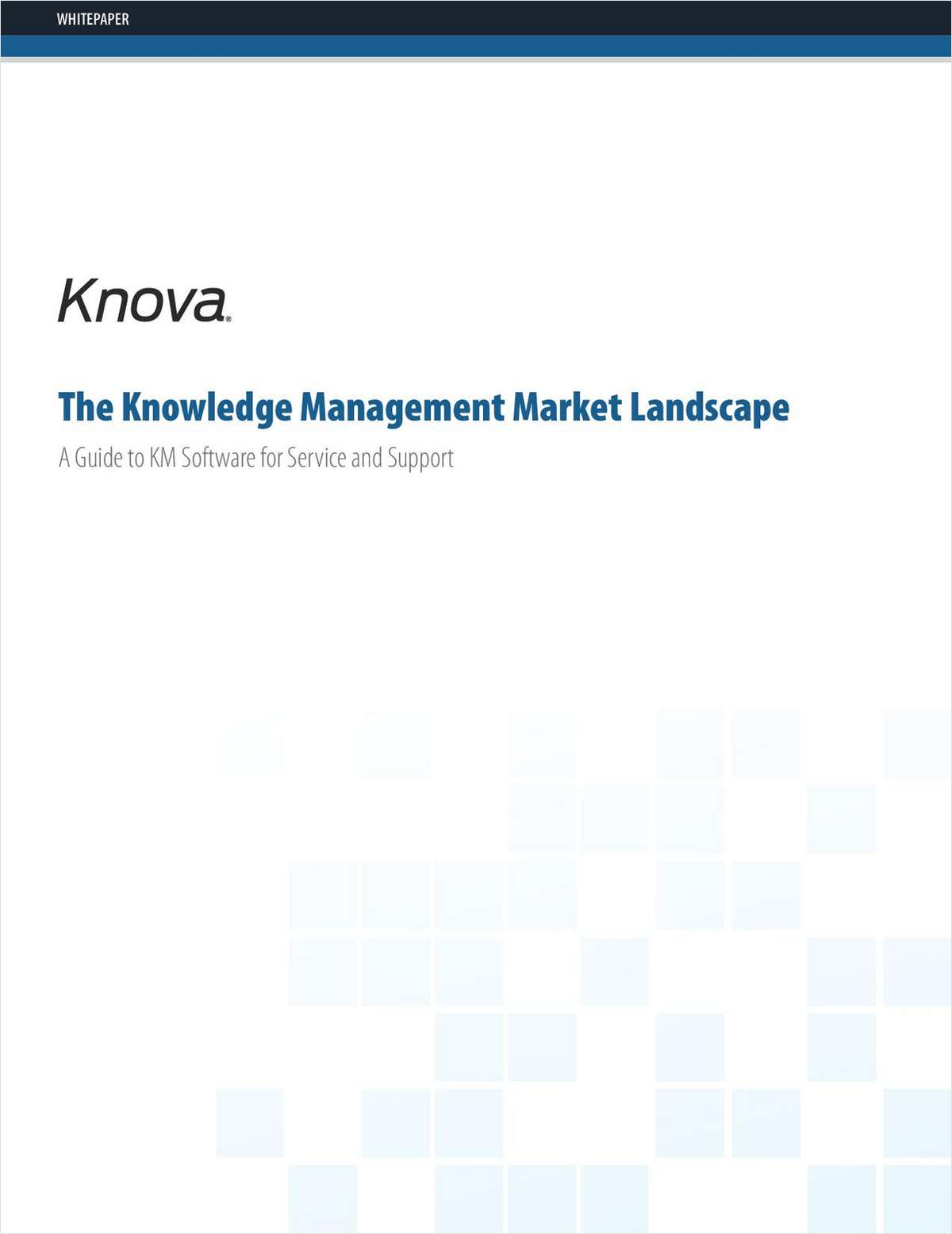 A Guide to Knowledge Management Software for Service and Support