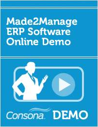 Made2Manage ERP Software Online Demo