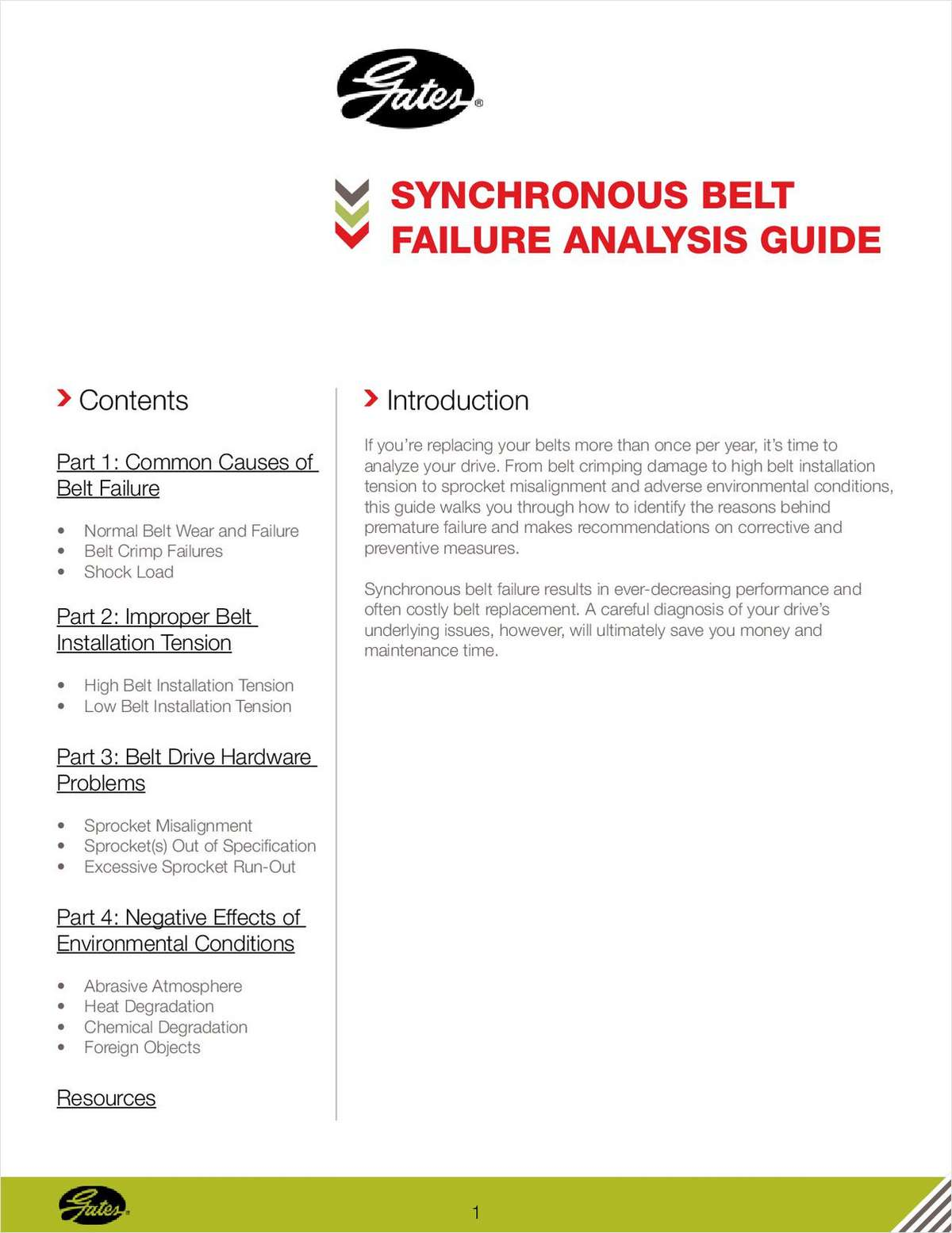 Synchronous Belt Failure Analysis Guide