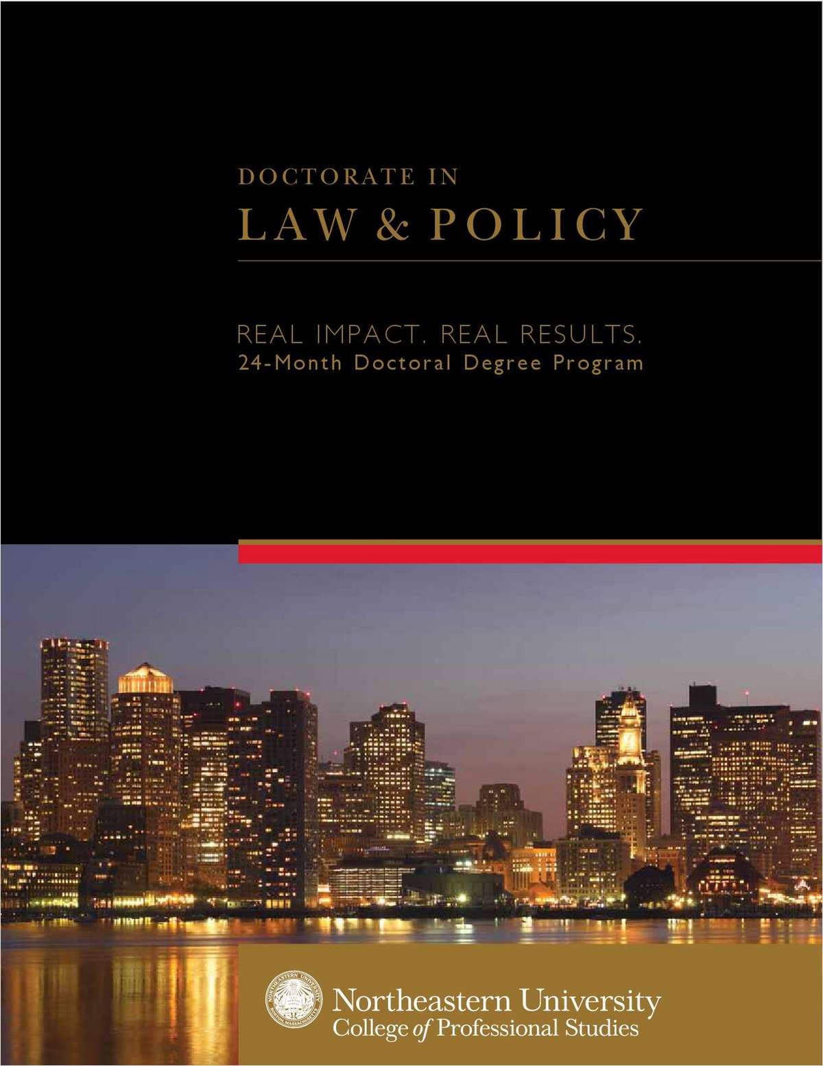 Doctorate in Law & Policy: Real Impact, Real Results