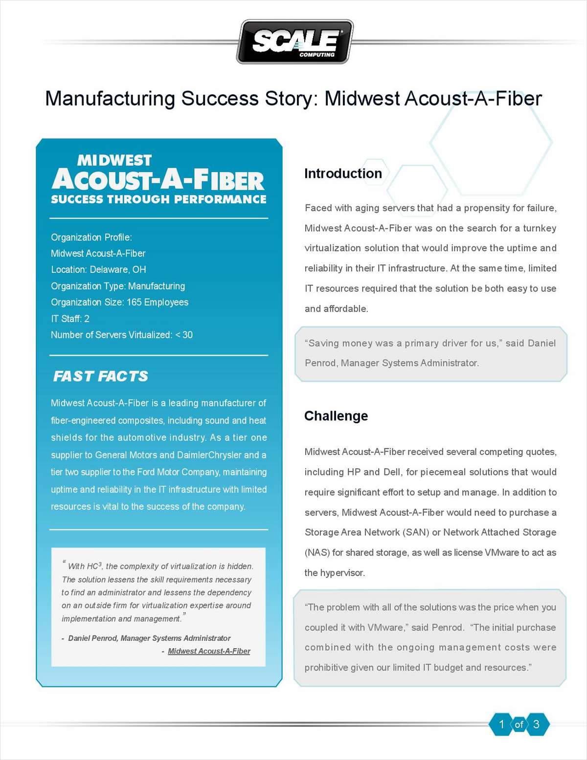 Manufacturing Success Story: Midwest Acoust-A-Fiber