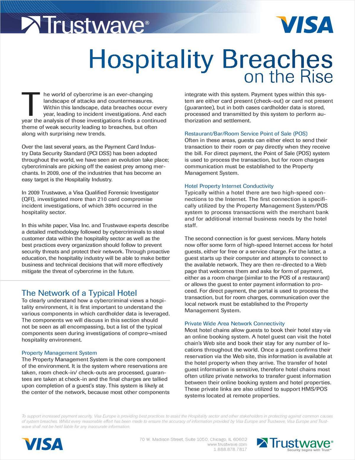 Hospitality Breaches on the Rise