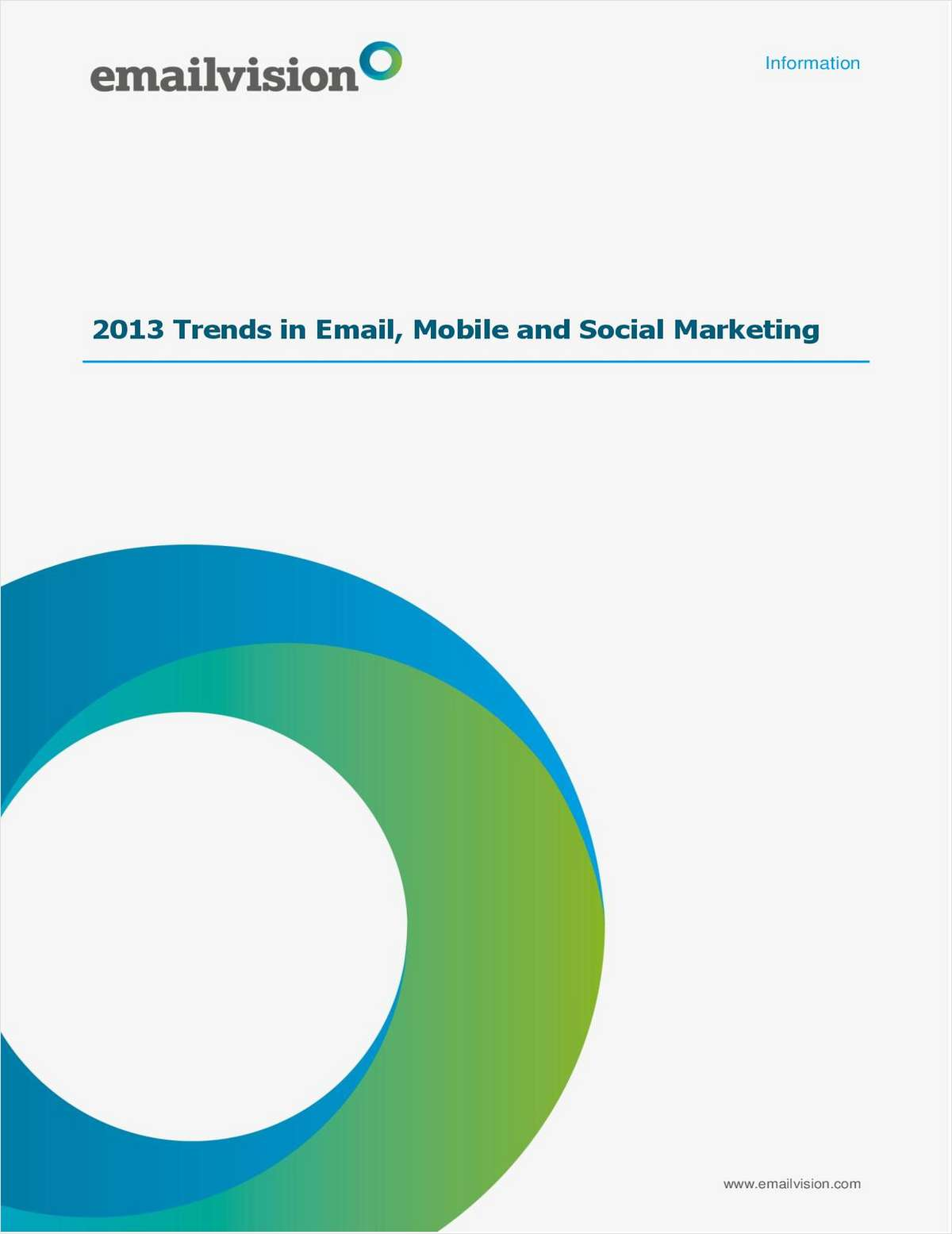 Top 10 Trends in Email, Mobile & Social Marketing