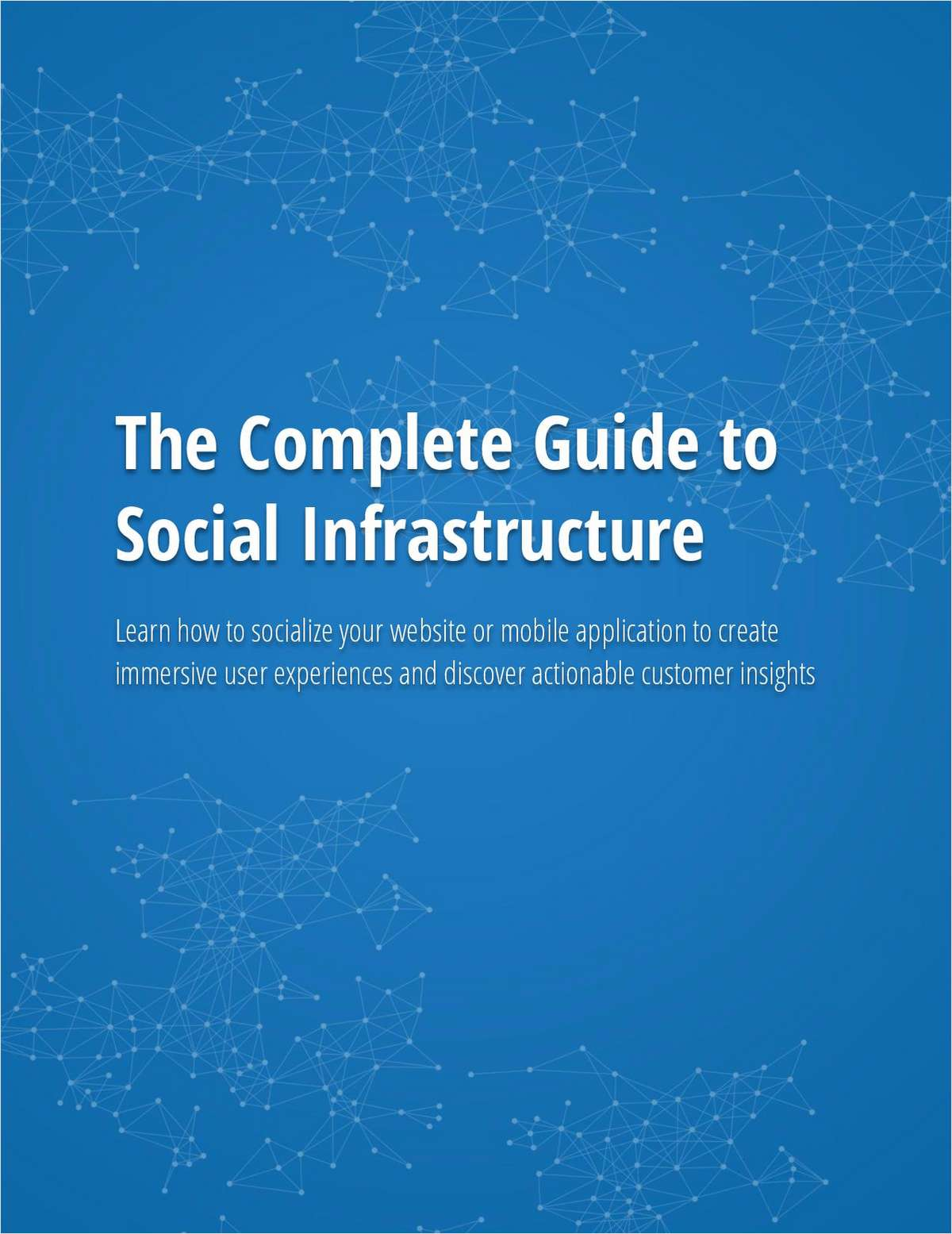 The Complete Guide to Social Infrastructure
