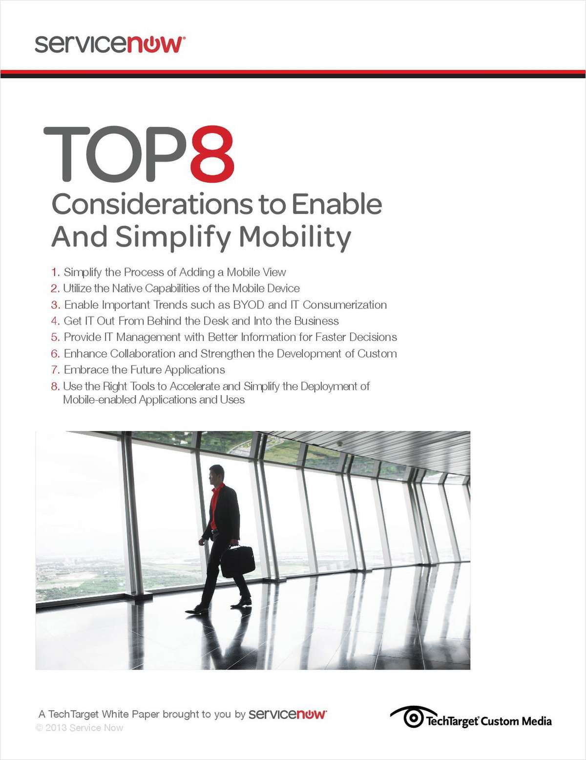 Top 8 Considerations to Enable and Simplify Mobility