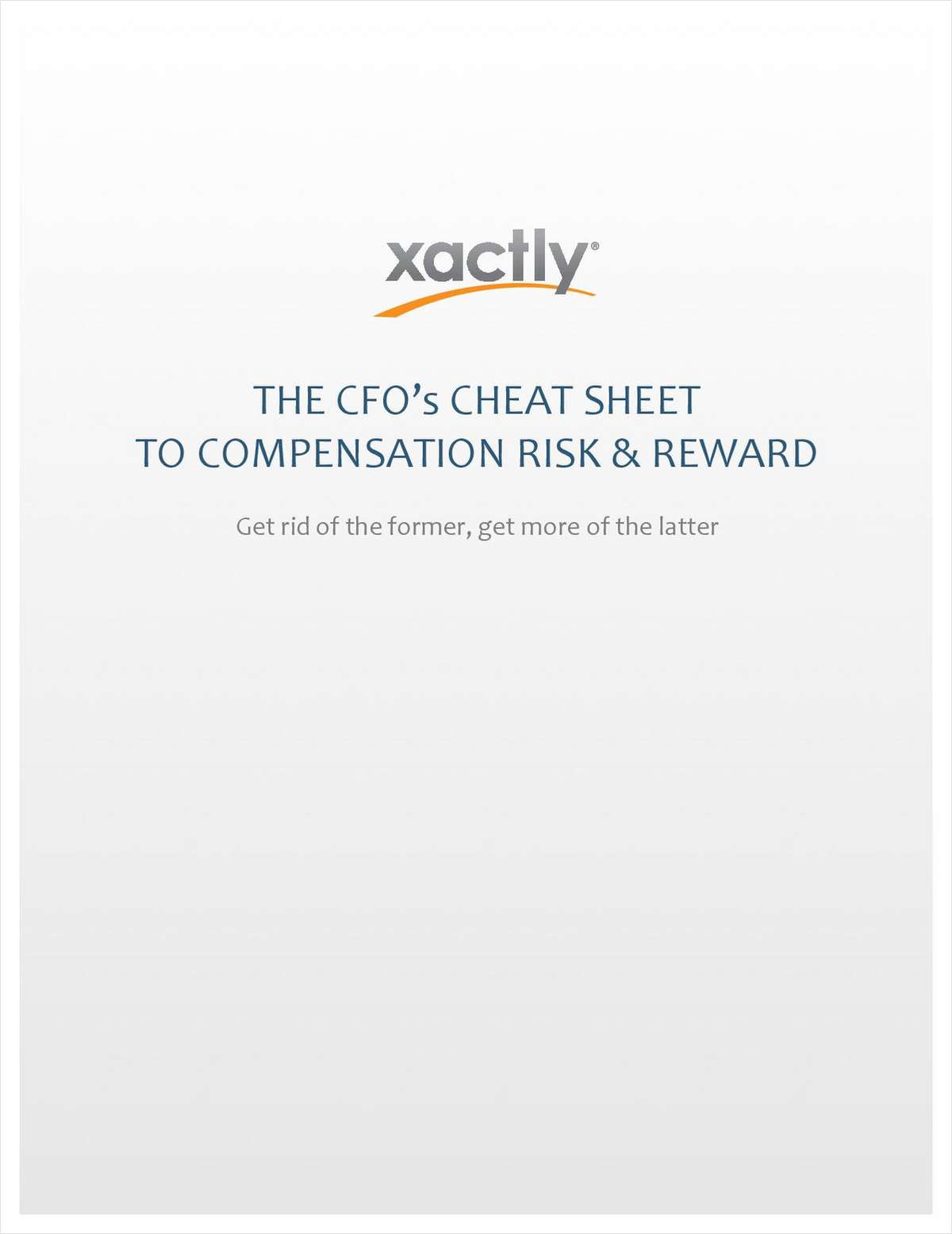 The CFO's Cheat Sheet to Compensation Risk & Reward