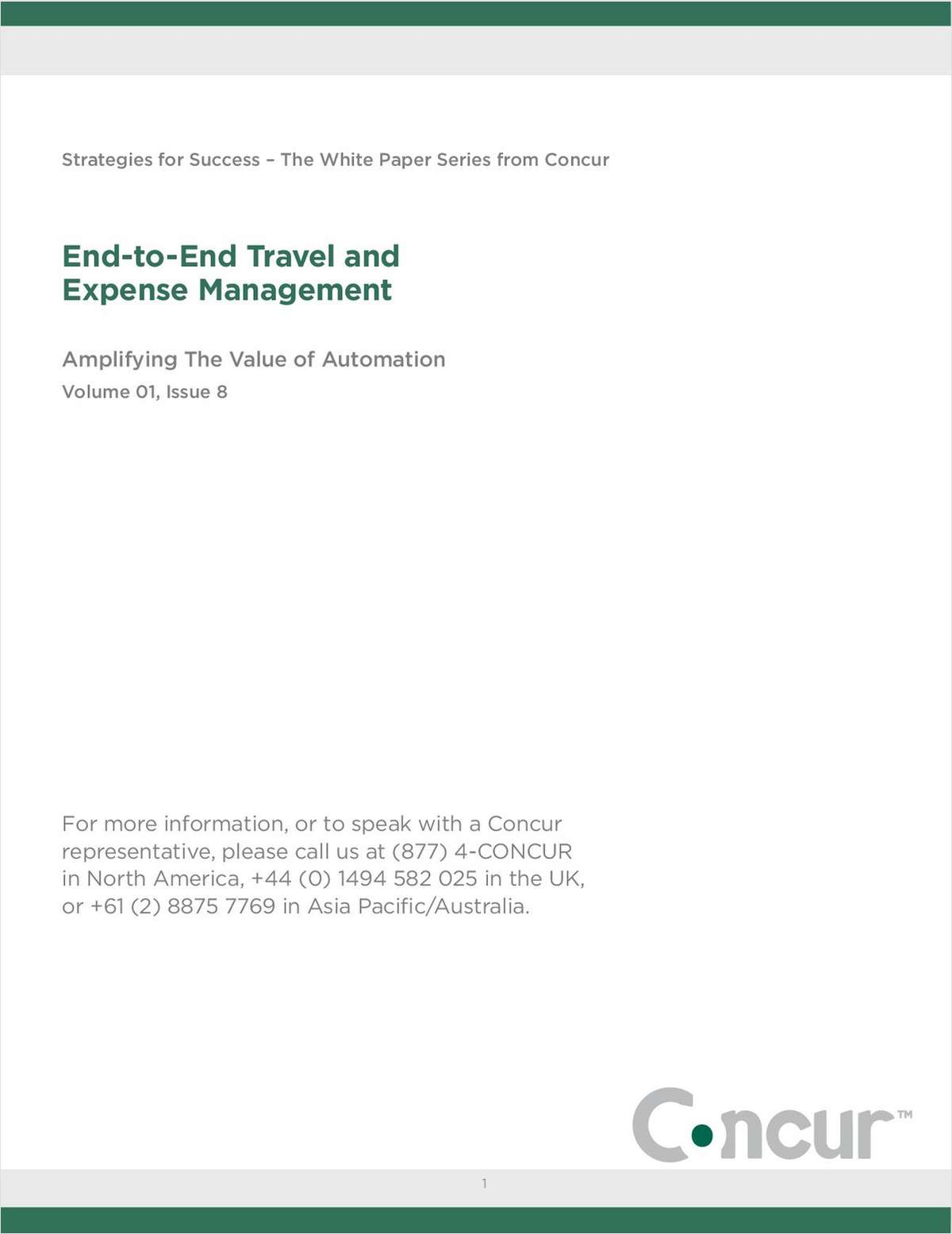 Amplifying the Value of Travel & Expense Automation