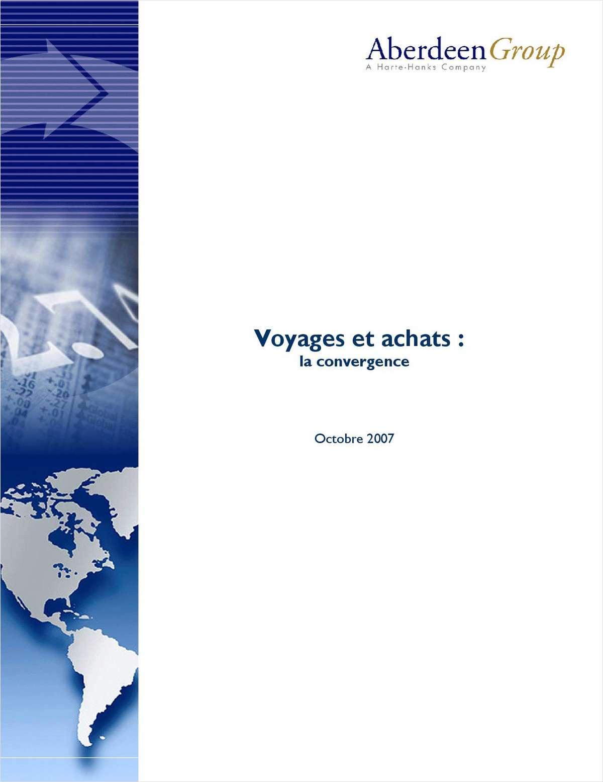 Voyage et Achats : La Convergence