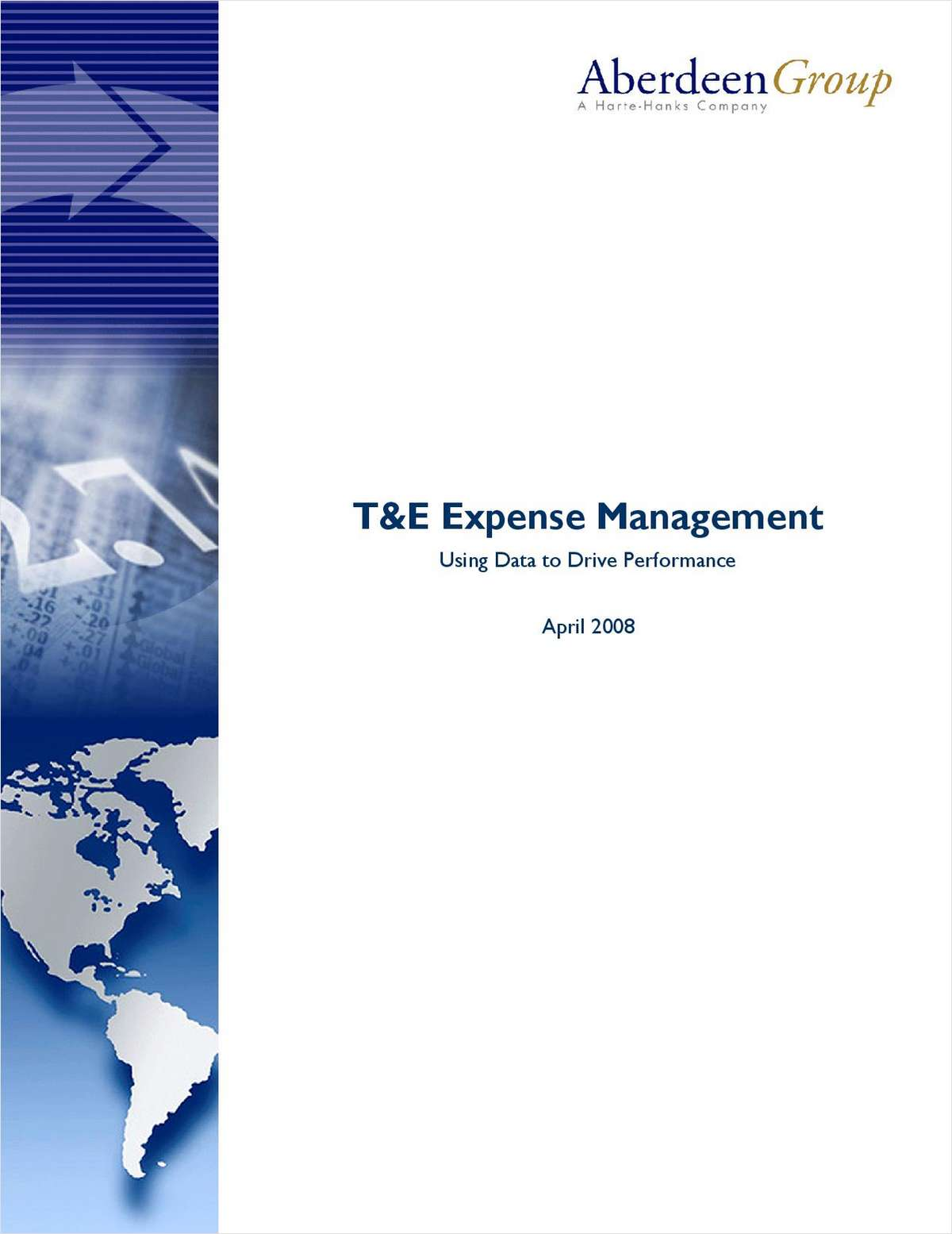 T&E Expense Management: Using Data to Drive Performance