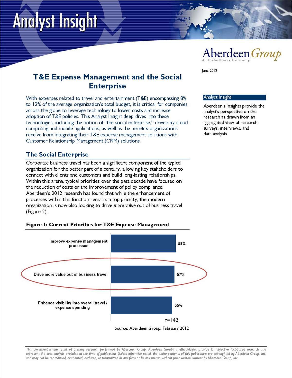 T&E Expense Management and the Social Enterprise