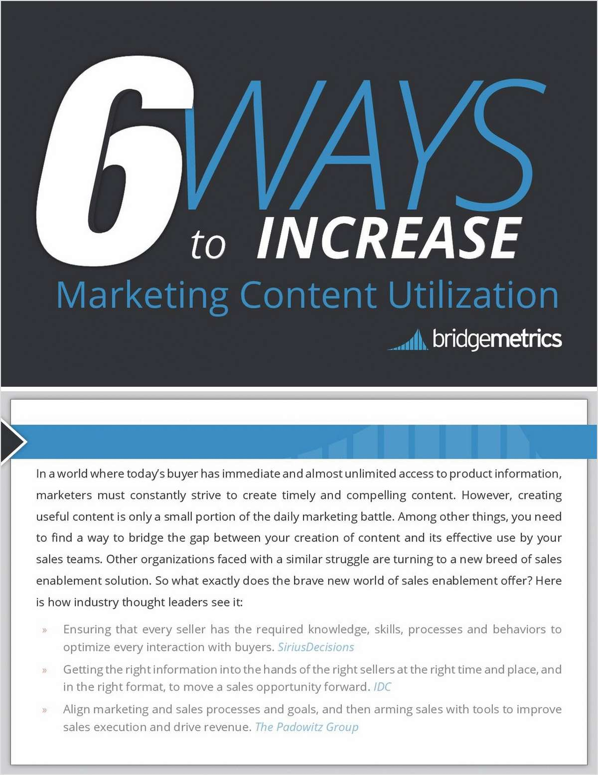6 Ways to Increase Marketing Content Utilization