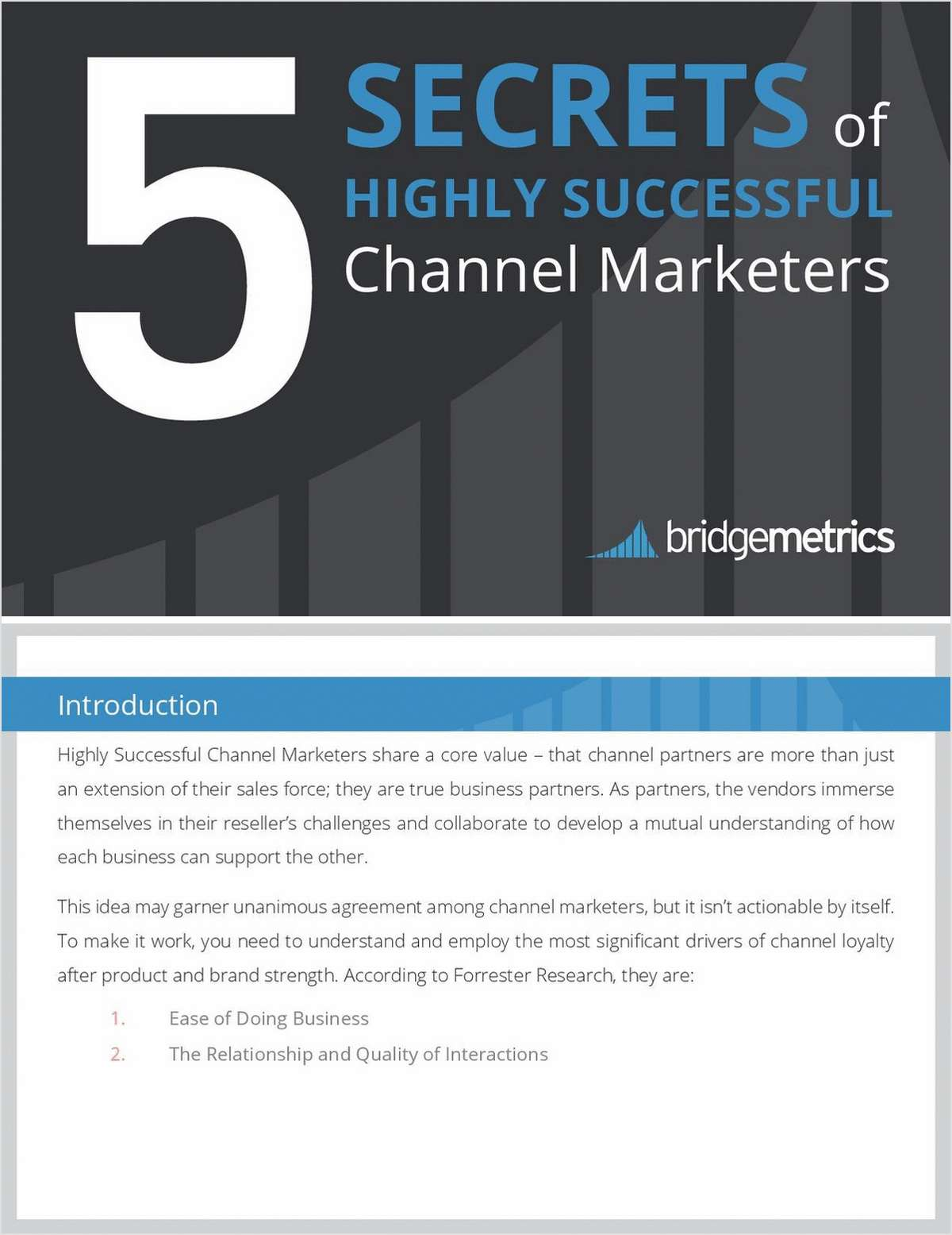 5 Secrets of Highly Effective Channel Marketers