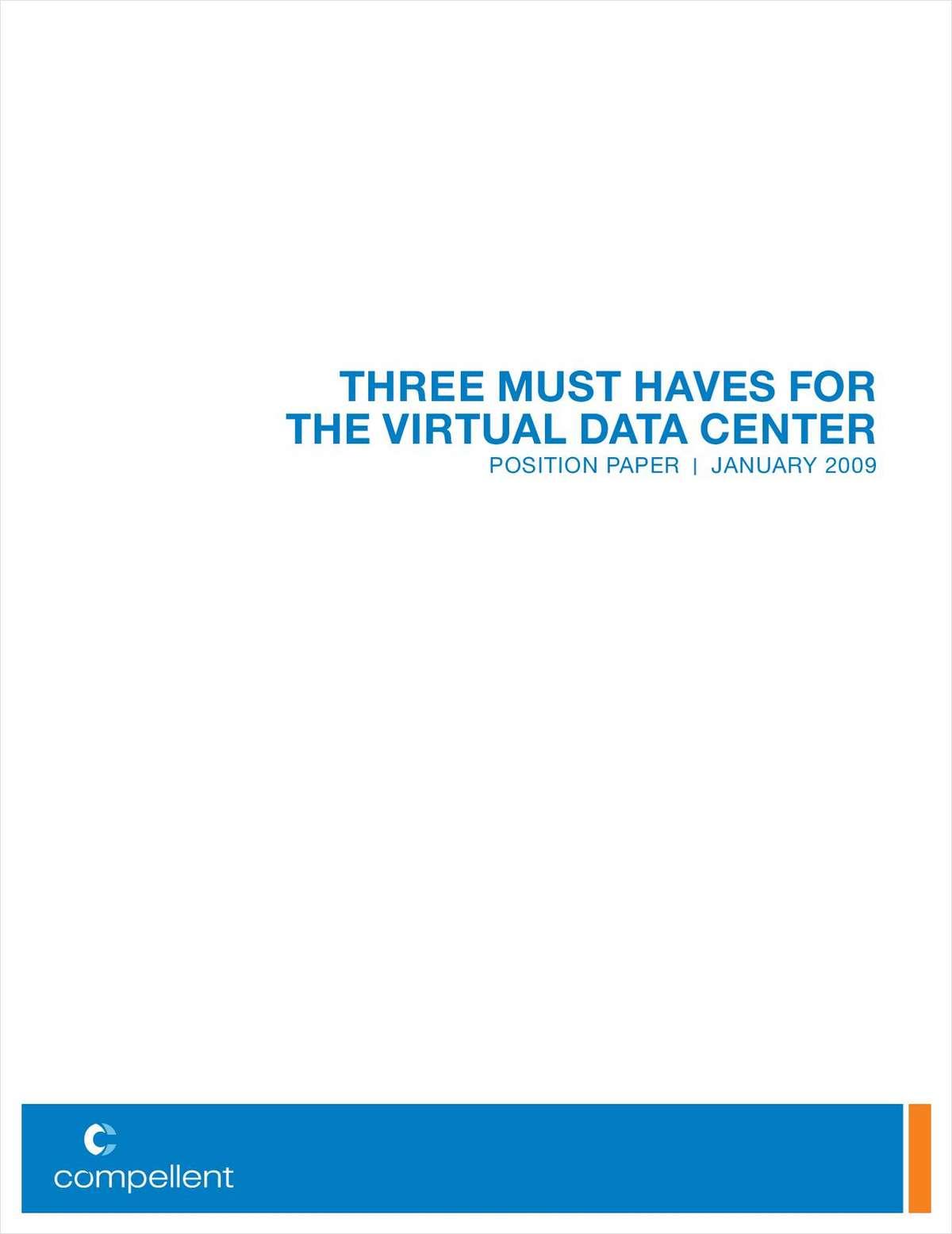 Three Must Haves for the Virtual Data Center