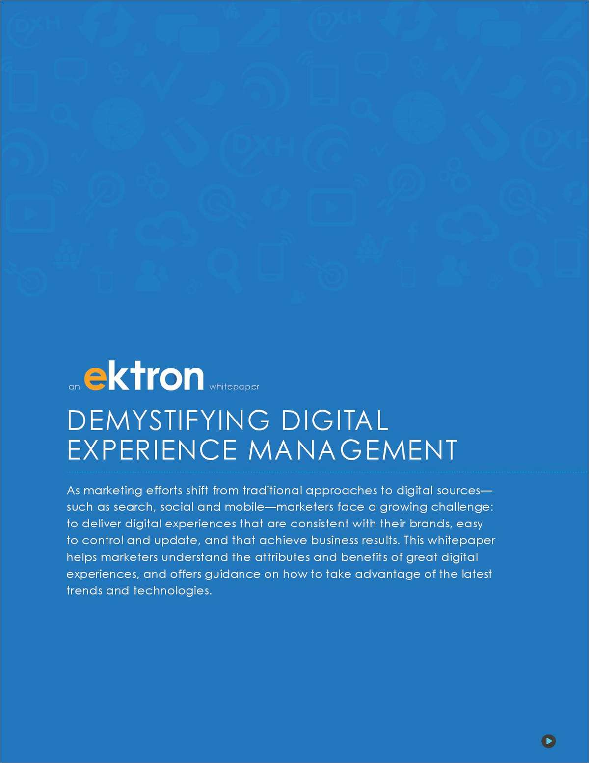 Understand the Elements of a Great Digital Experience