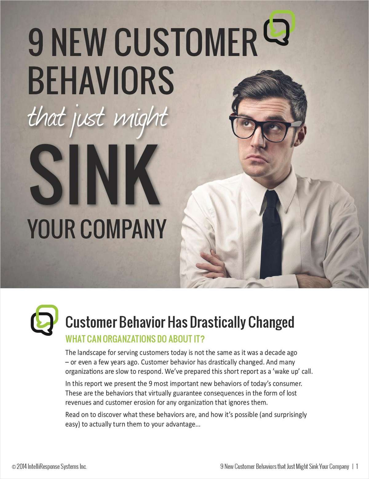 9 New Customer Behaviors that Could Sink Your Company