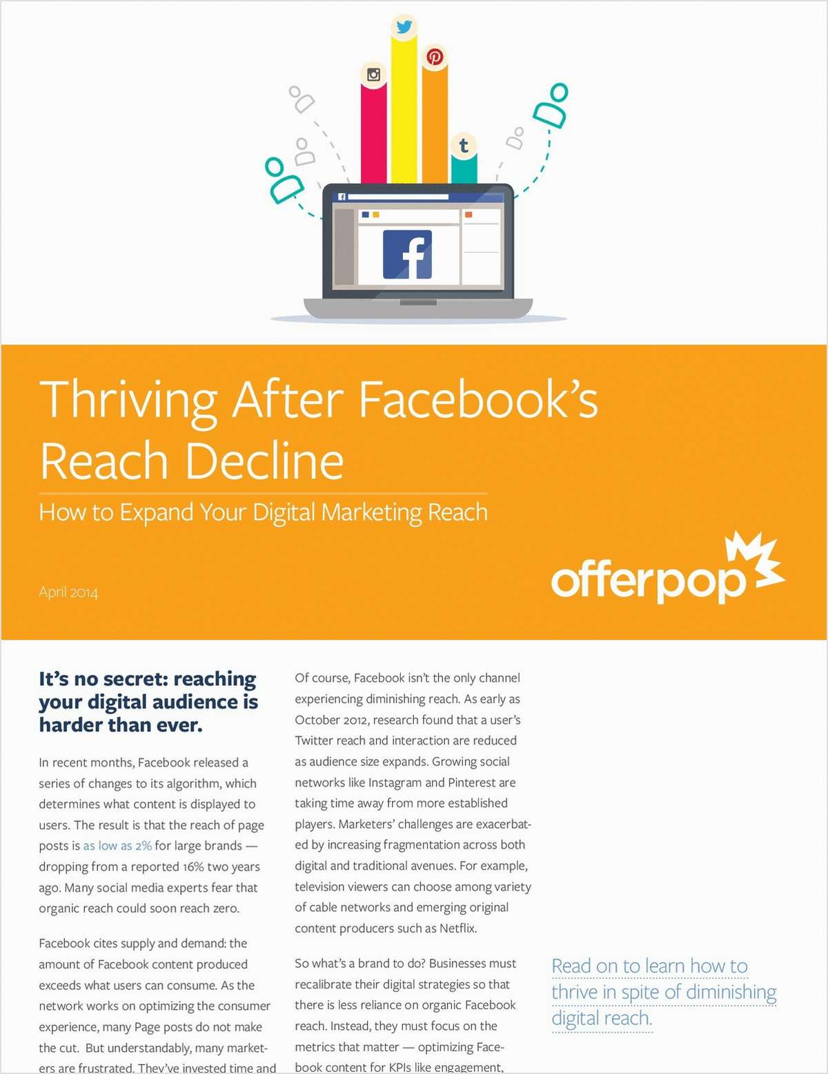 Thriving after Facebook's Reach Decline