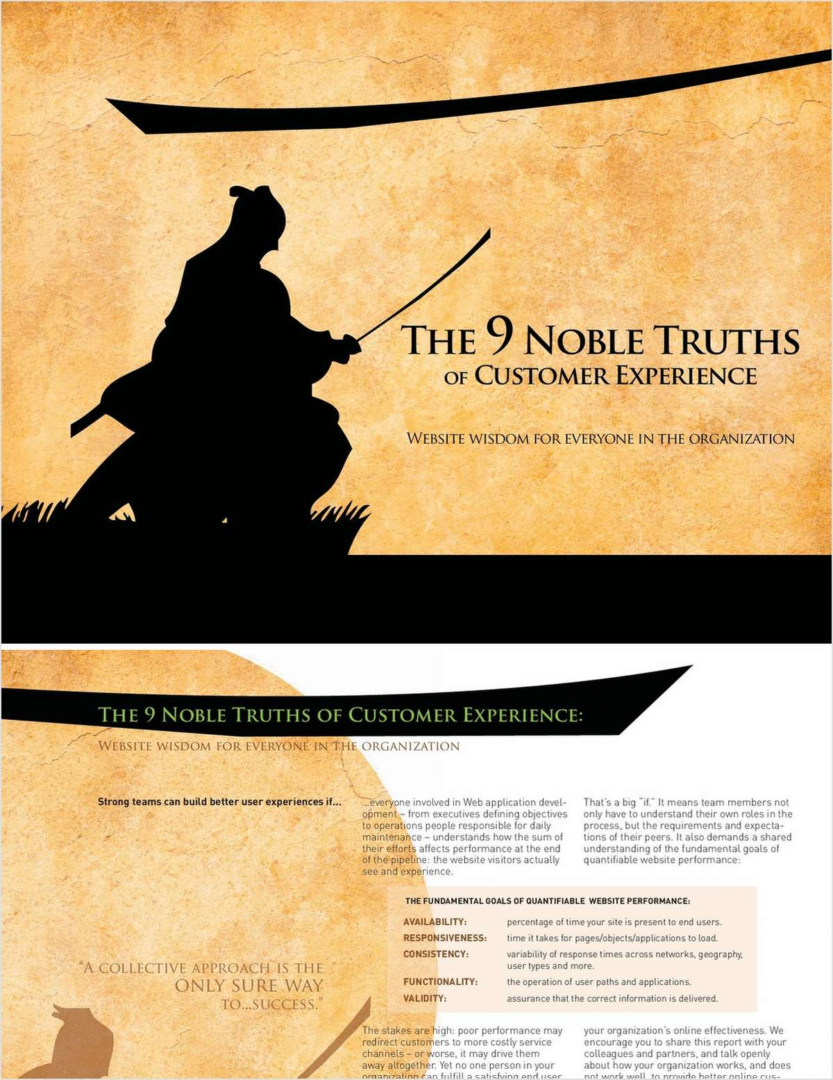 The 9 Noble Truths of Customer Experience