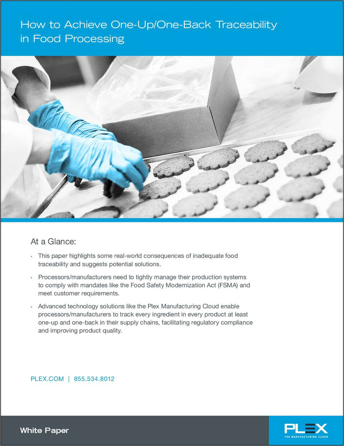 Achieve One-Up/One-Back Traceability in Food Processing