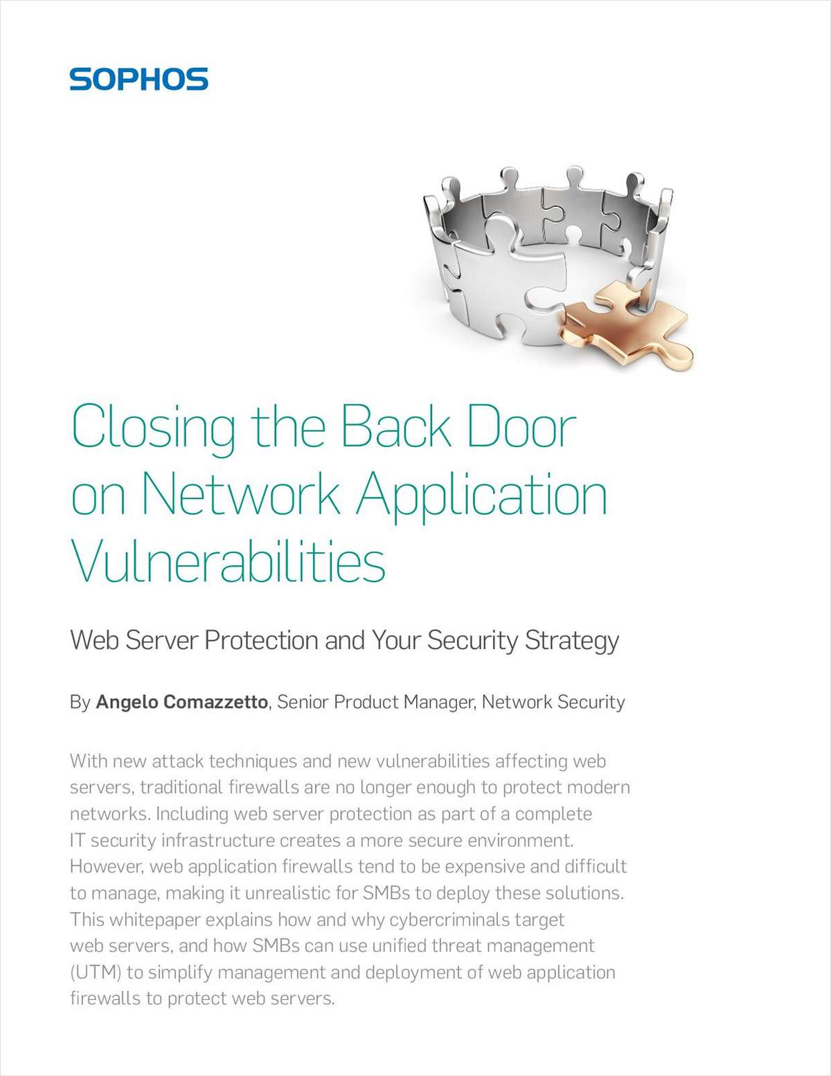 Closing the Back Door on Network Application Vulnerabilities