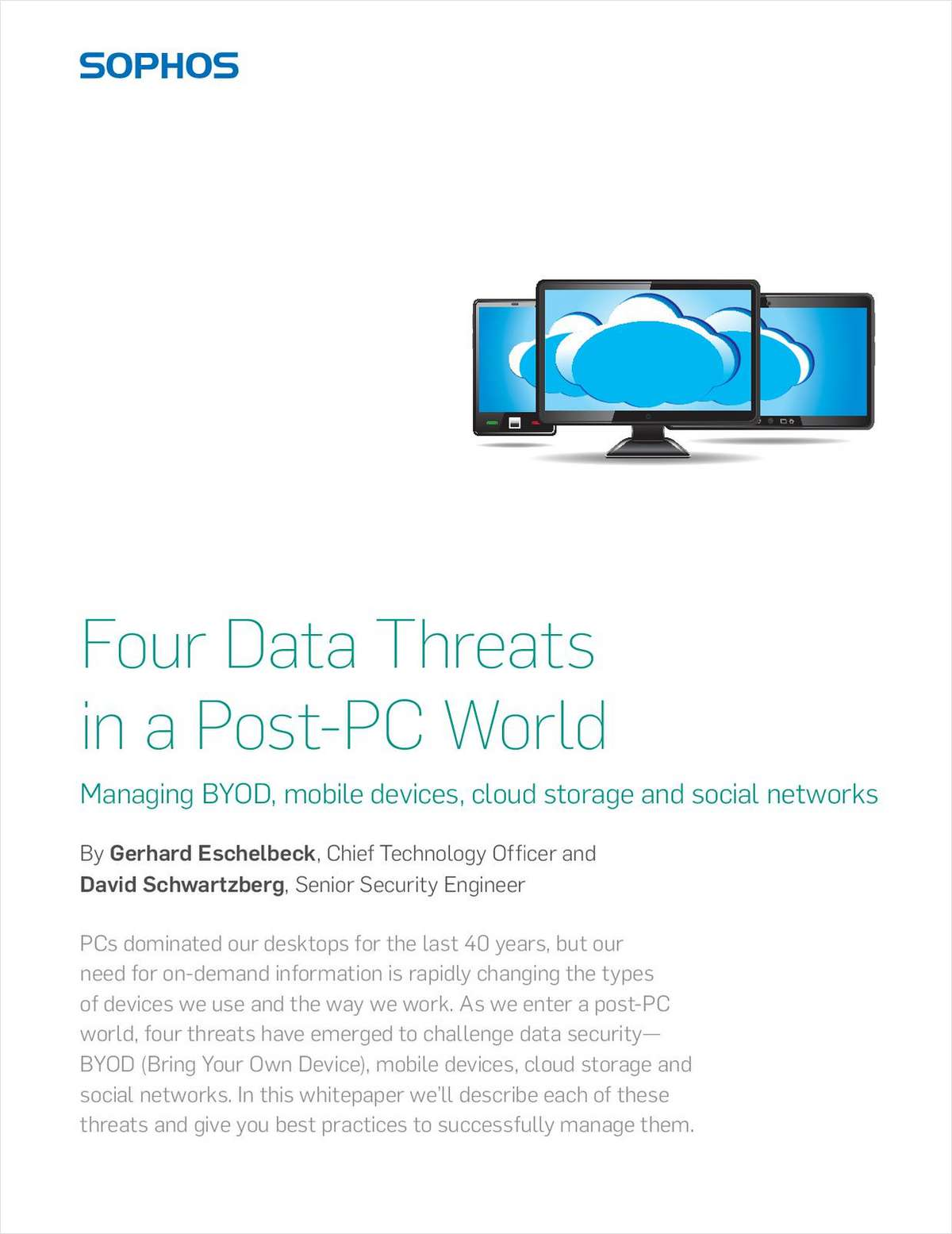 Four Data Threats in a Post-PC World