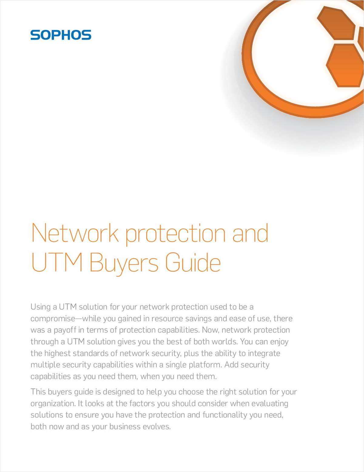 Network Protection and UTM Buyers Guide